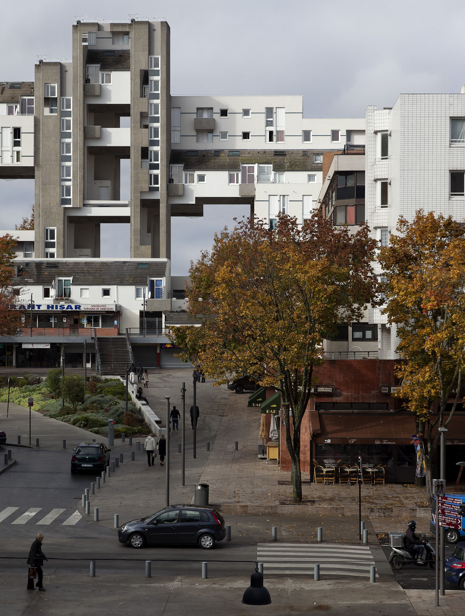 Hisar (WYSI*not*WYG project / Anarchitecture Evry by Olivier Ratsi)