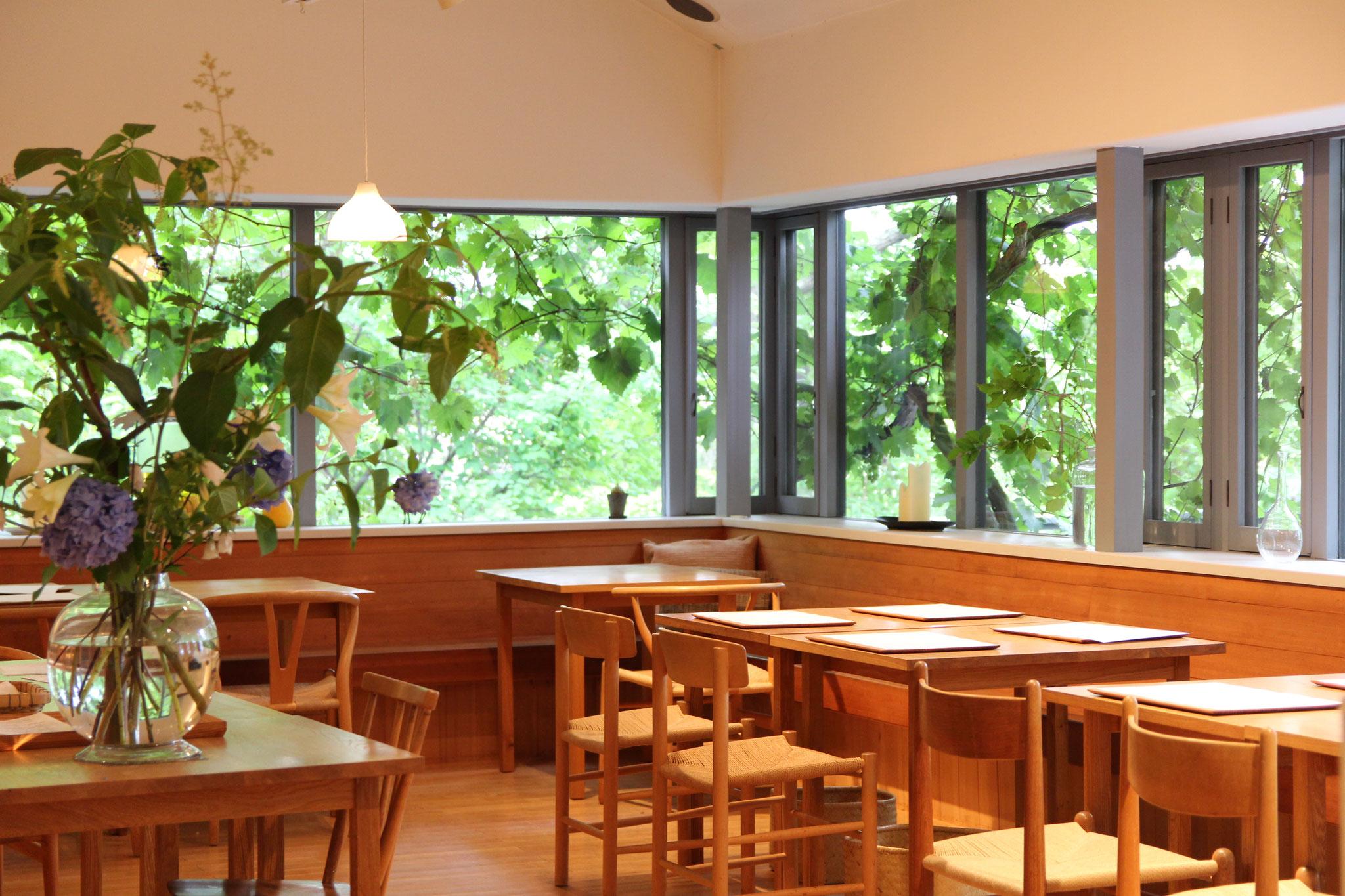 秋篠の森|レストラン なず菜