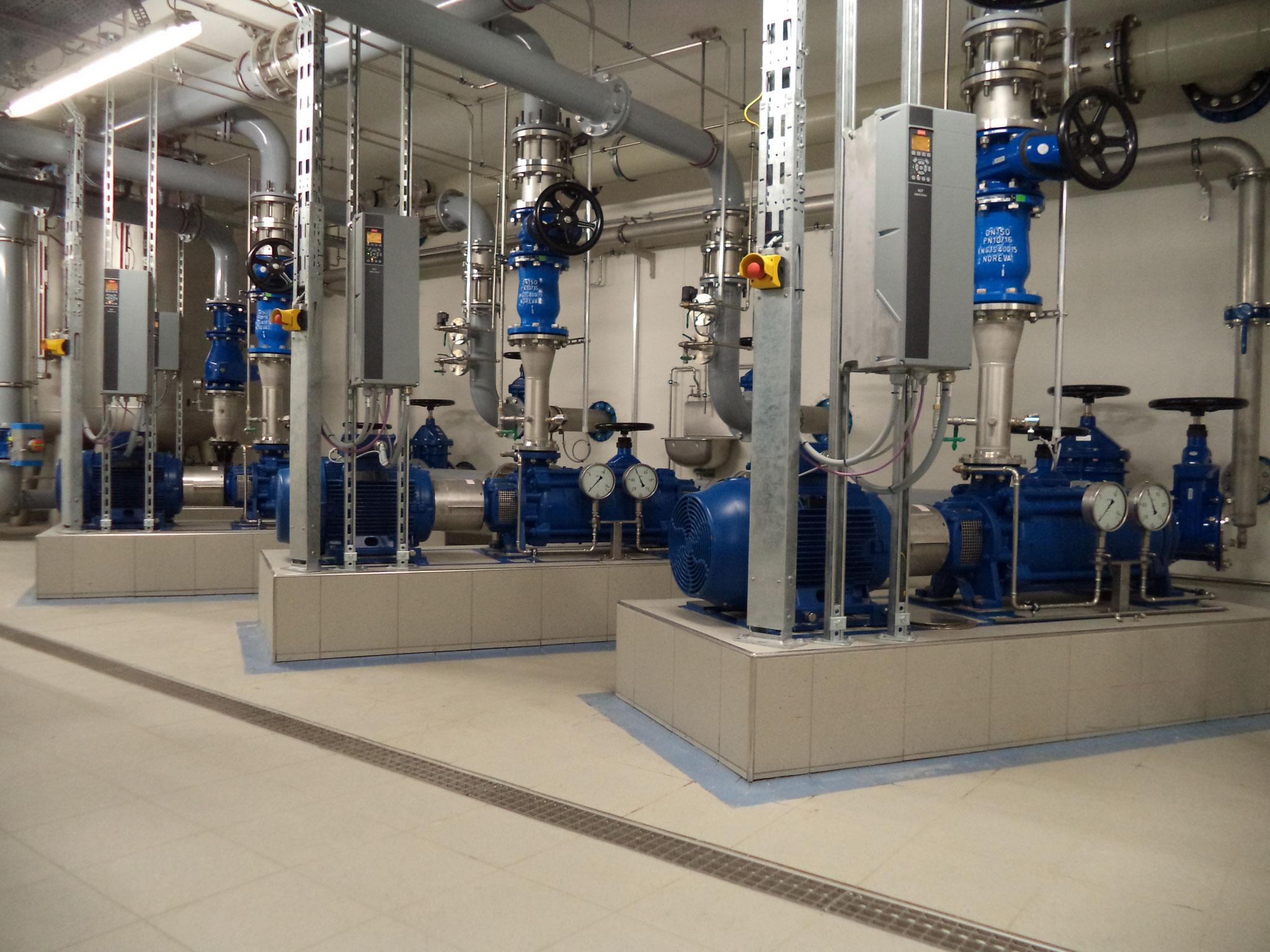 Trinkwasserförderpumpen