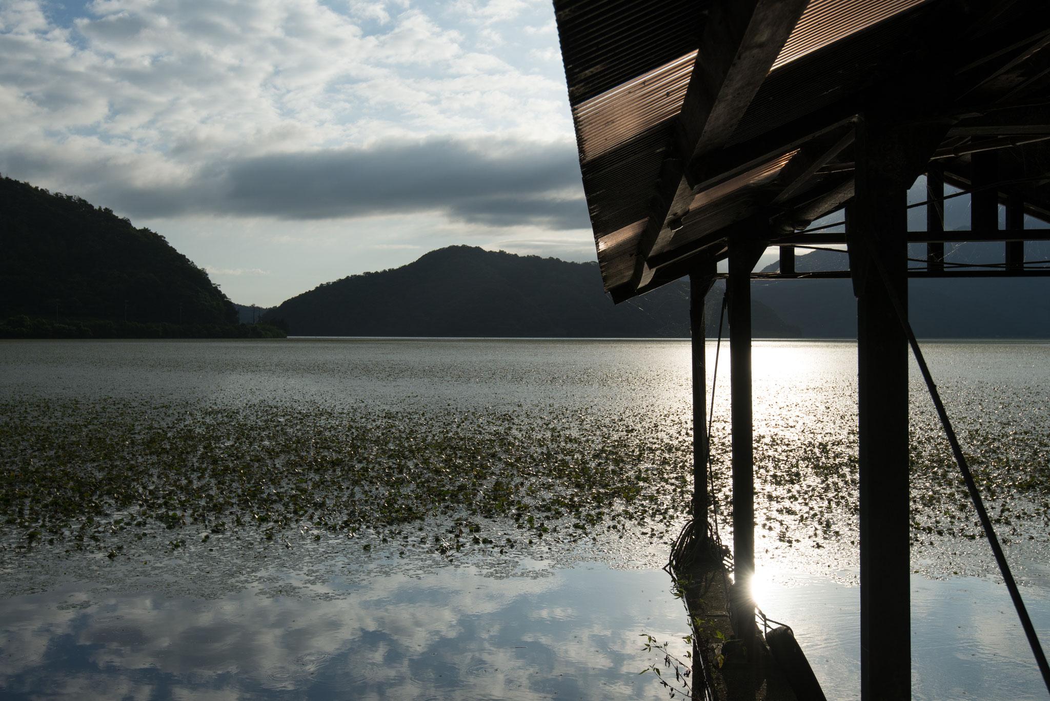 三方湖 船小屋