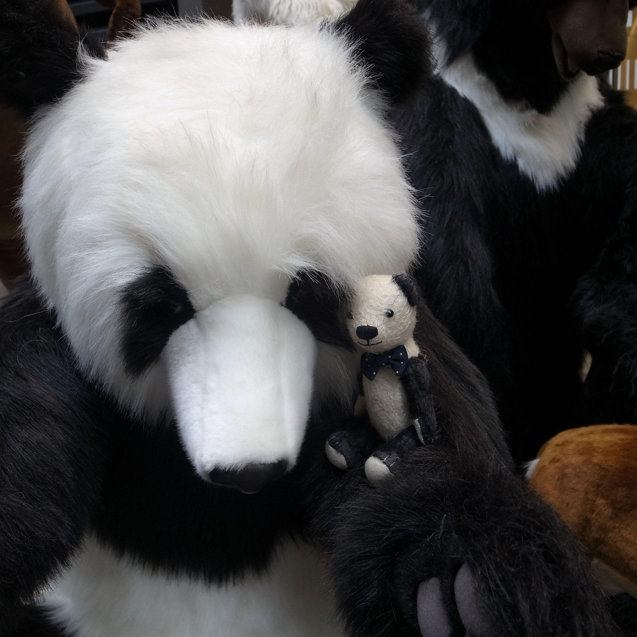 大きなパンダさんもいたよ