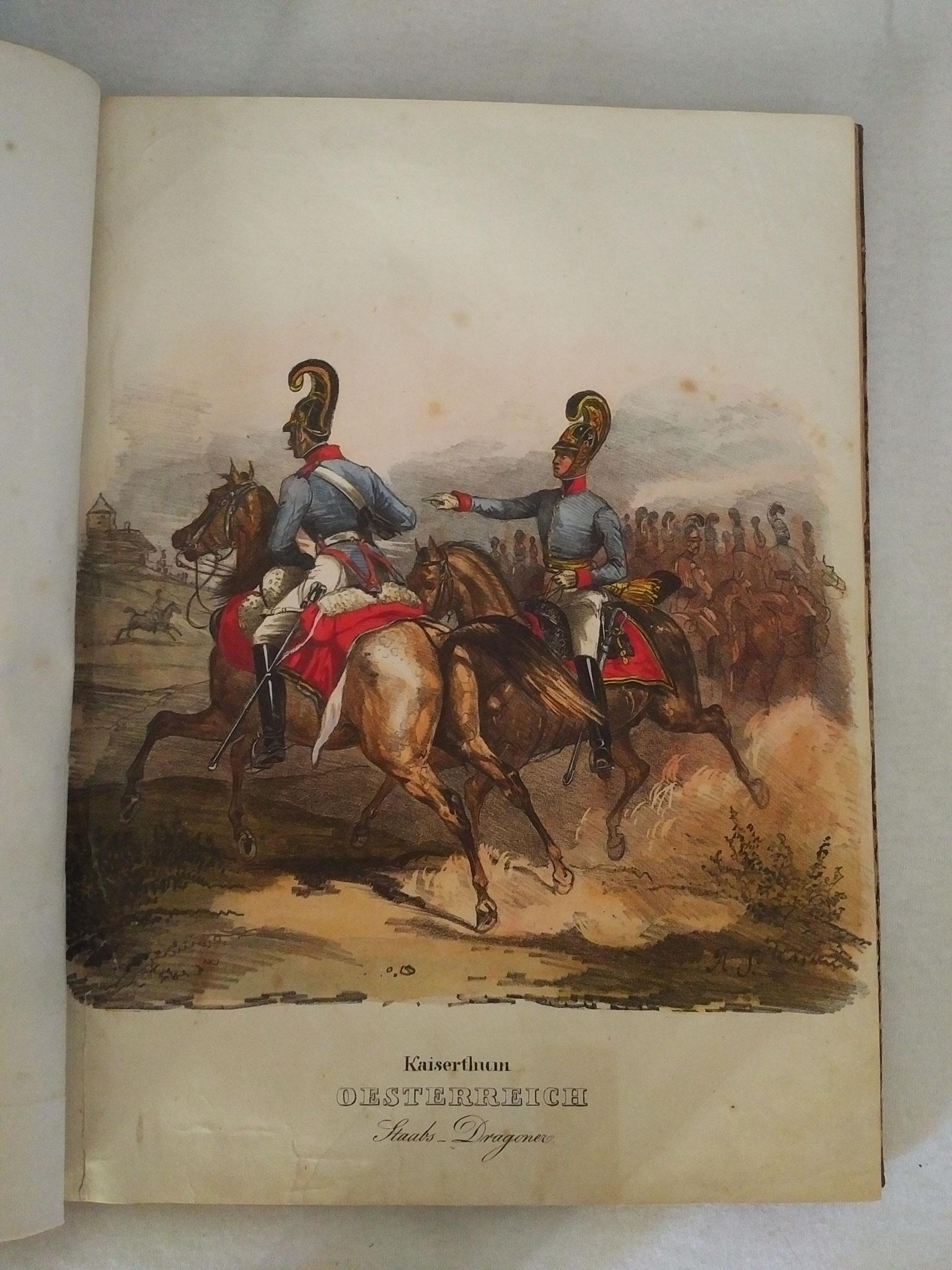 Vorbild und Recherche für Film - Kavallerie Biedermeier