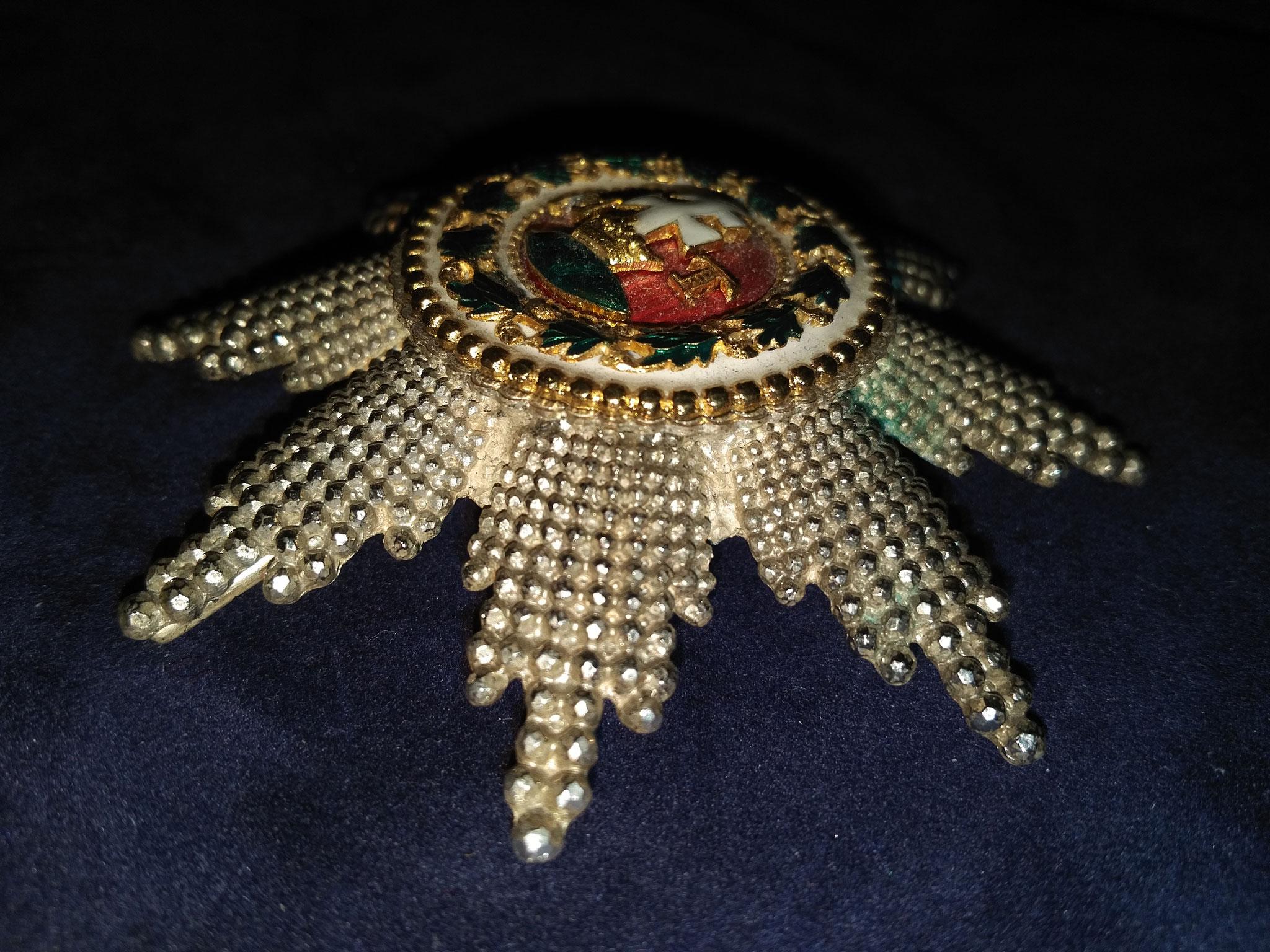 Anfertigung des St. Stephansorden in Juweliersqualität