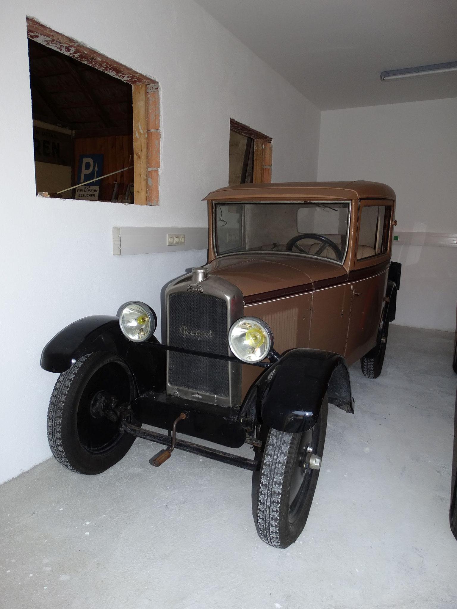 Peugeot 1928 - bereit für einen Filmeinsatz