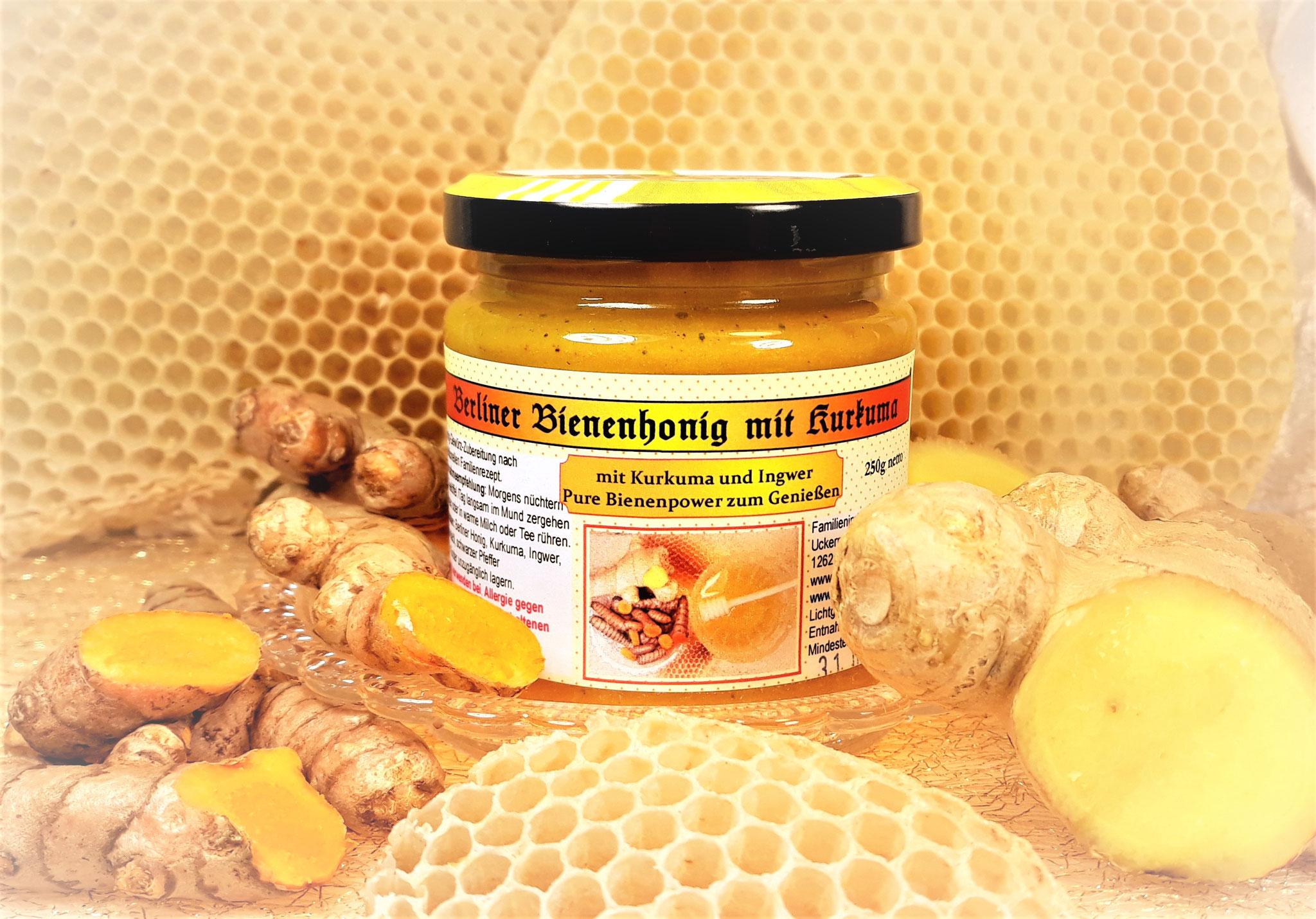 Berliner Honig mit Kurkuma