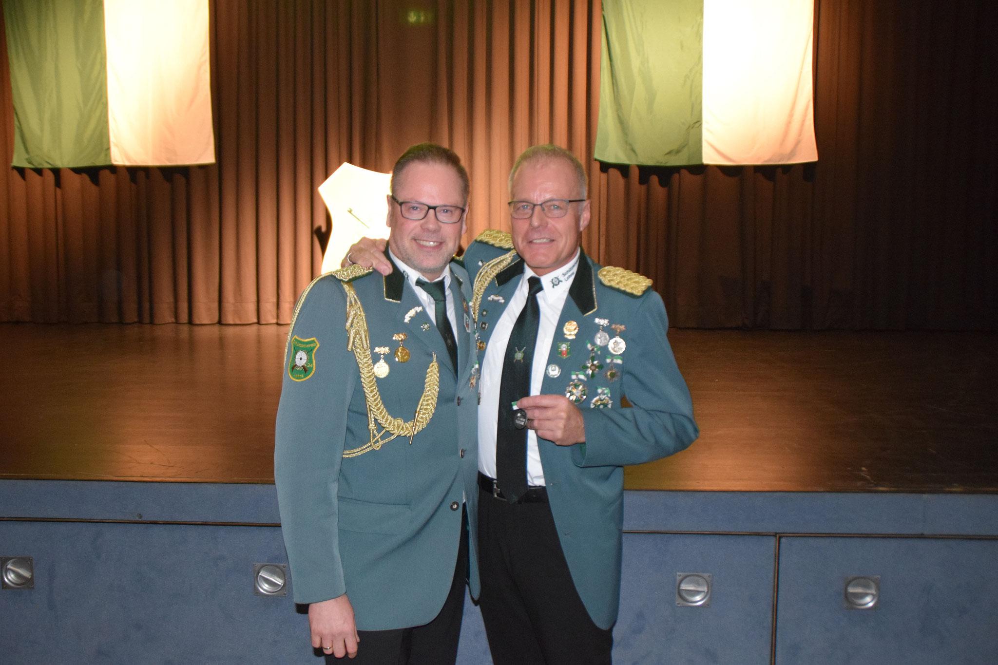 Schützenbruder für besondere Verdienste, Hubert Overberg