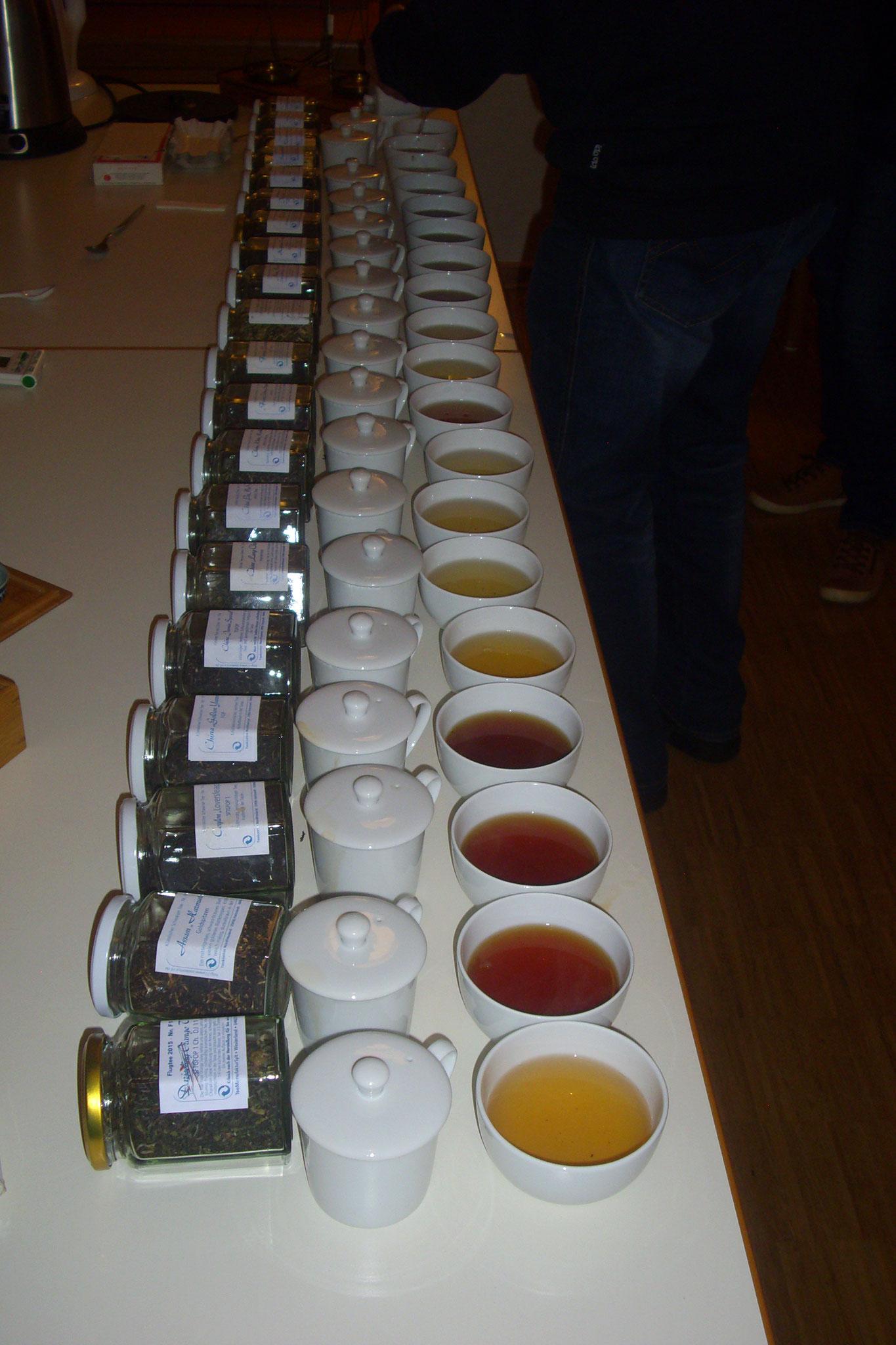 Teeverkostung 2016