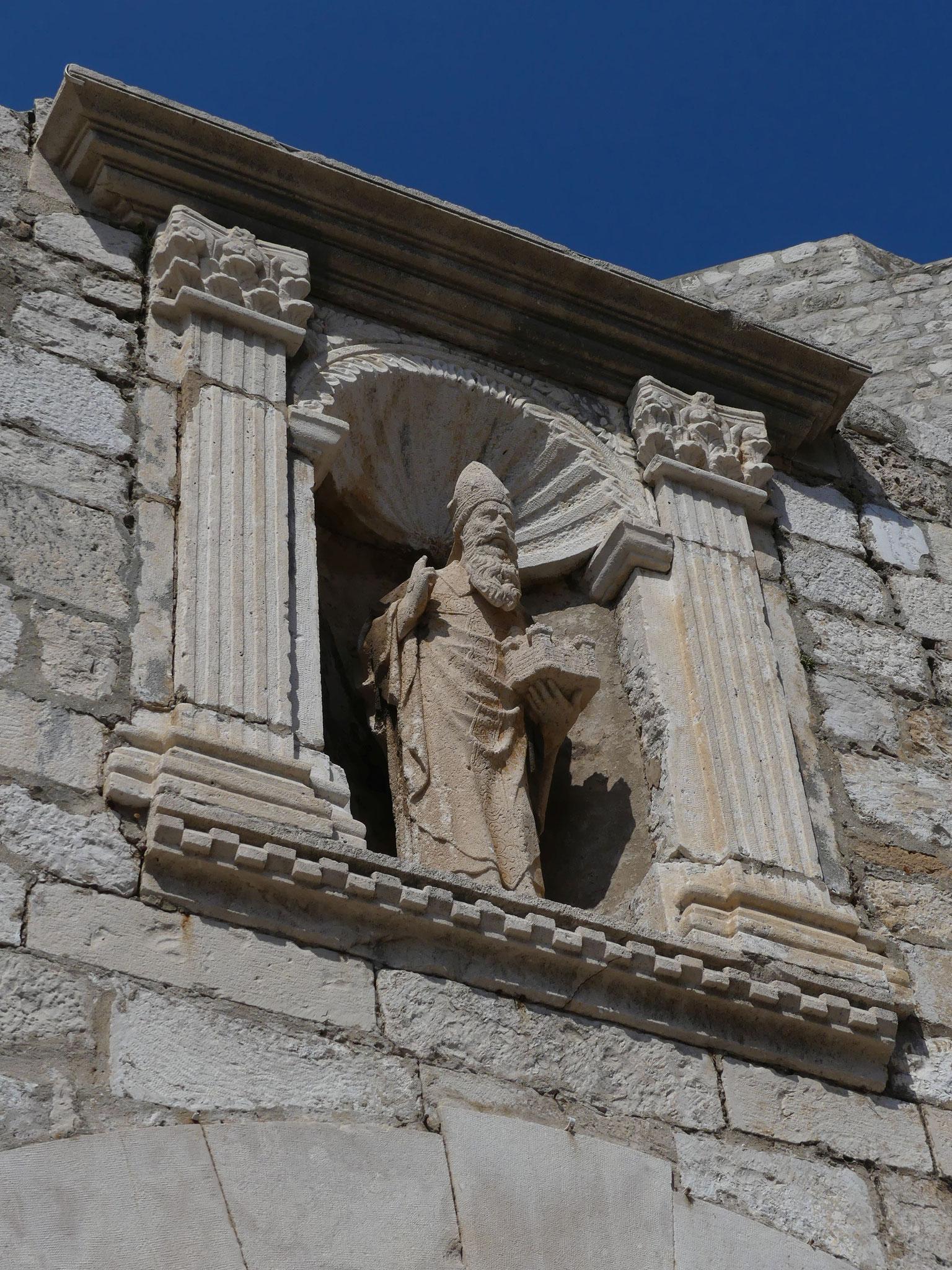 St. Blasius - er wacht über der Stadt, ist allgegenwärtig