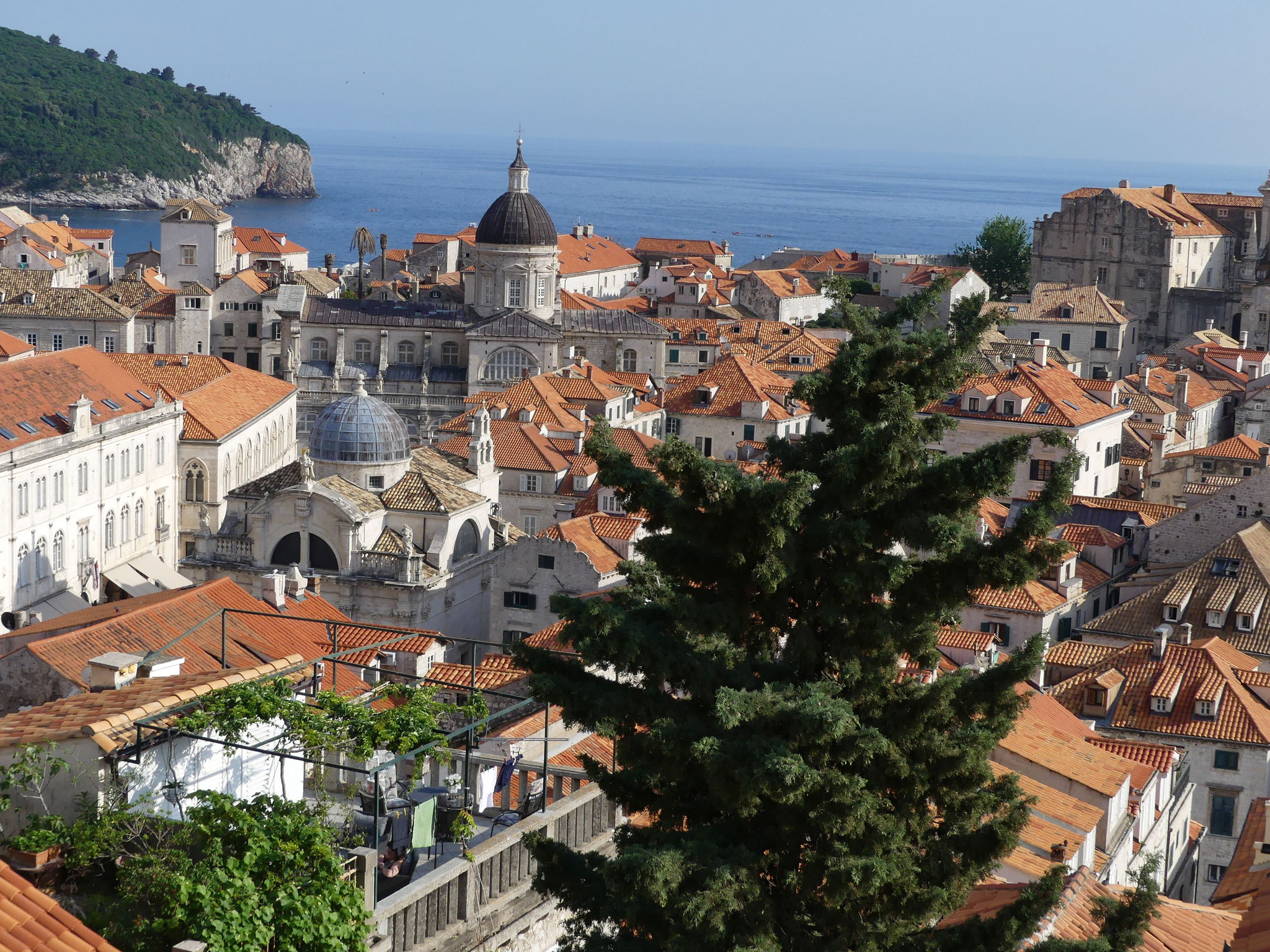 Beim Mauergang - Dubrovnik von allen Seiten