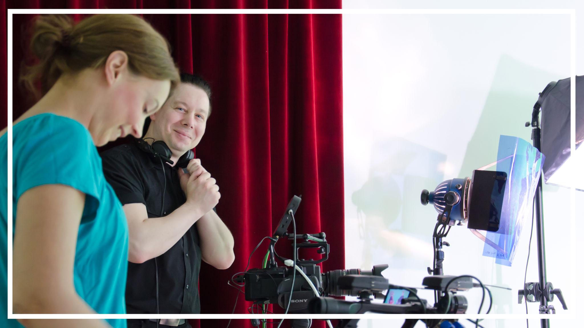 Mirko Jänecke: Kameramann und Humorbeauftrager