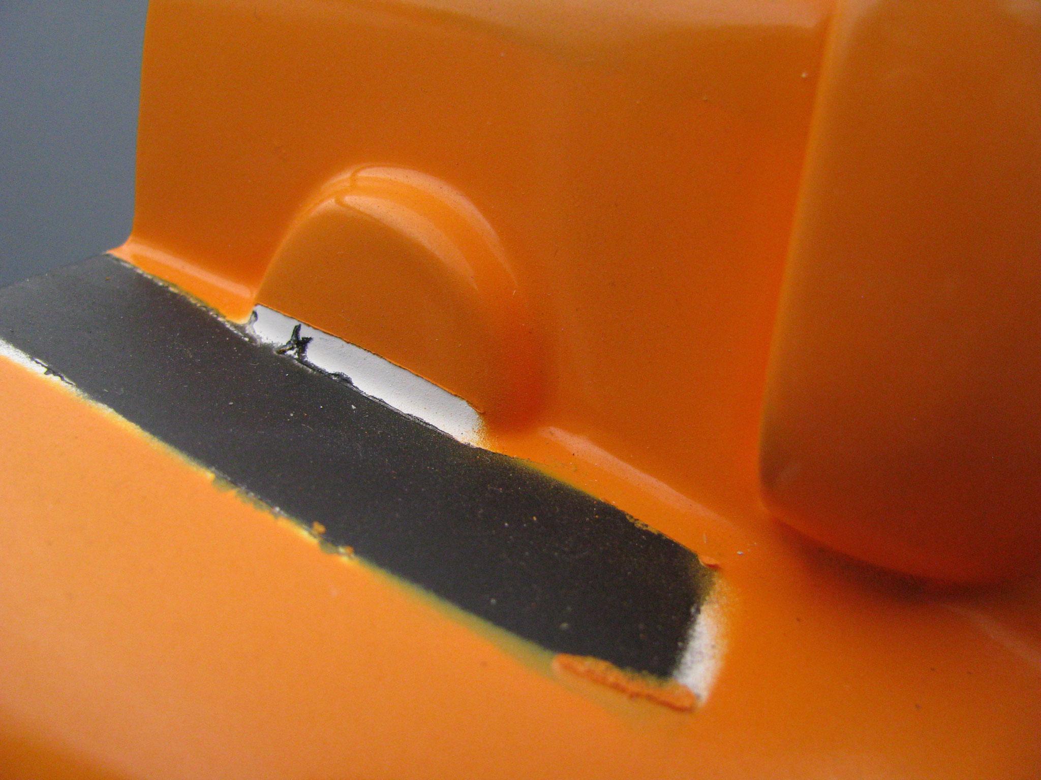 Airbrush - Reparatur: VORHER
