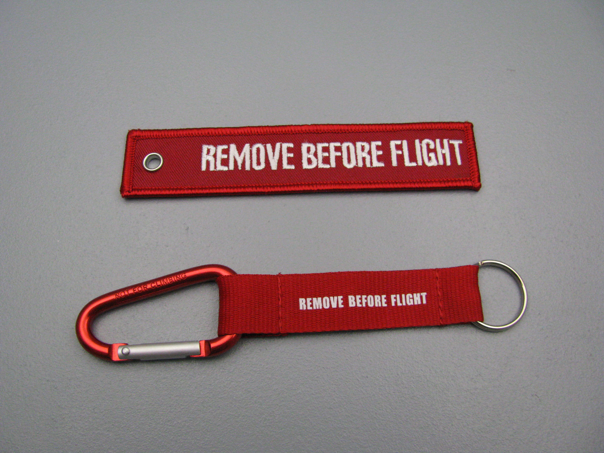 NEU: REMOVE BEFORE FLIGHT