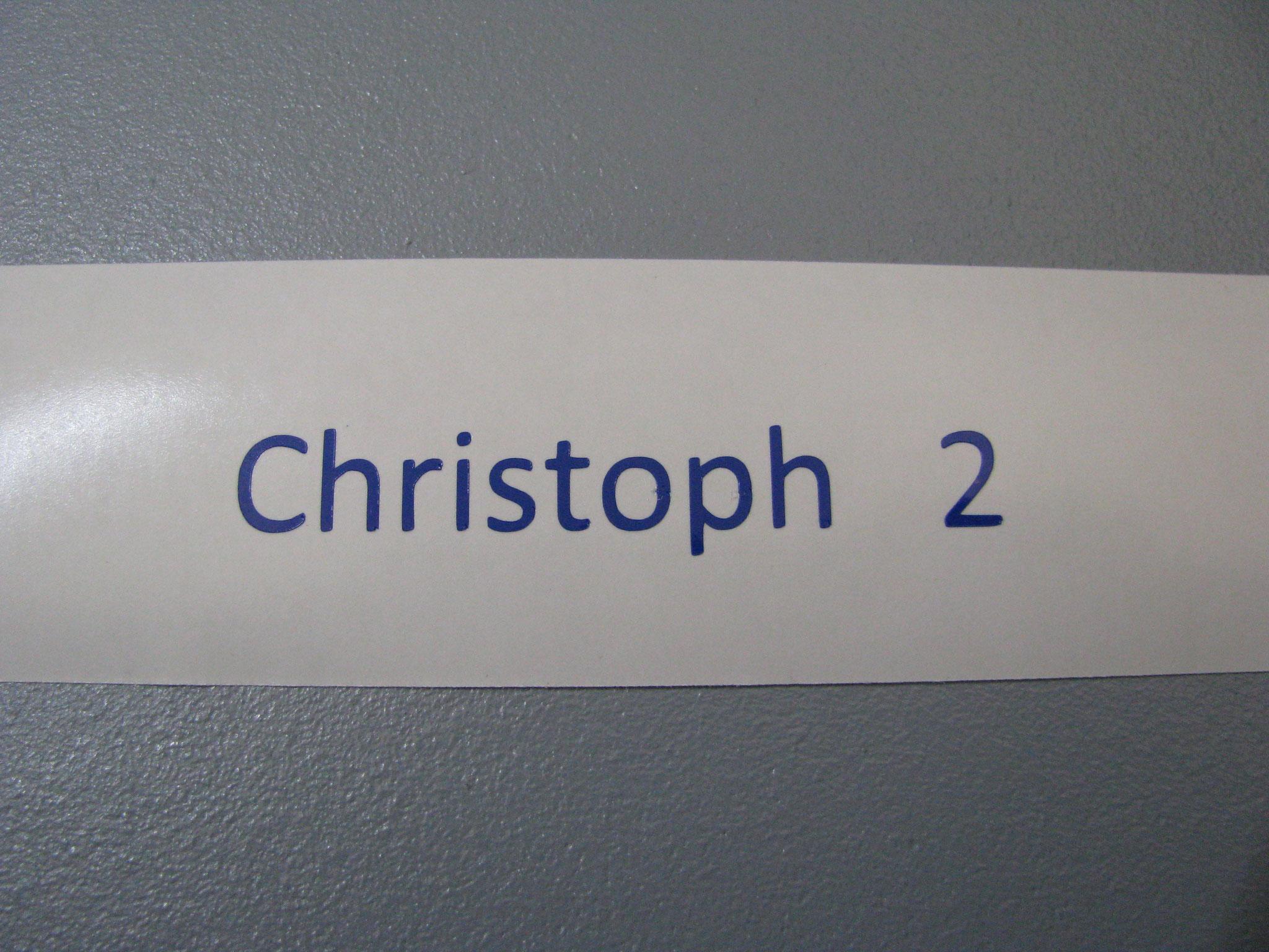M307: Christoph 2, z.B. 60x8mm
