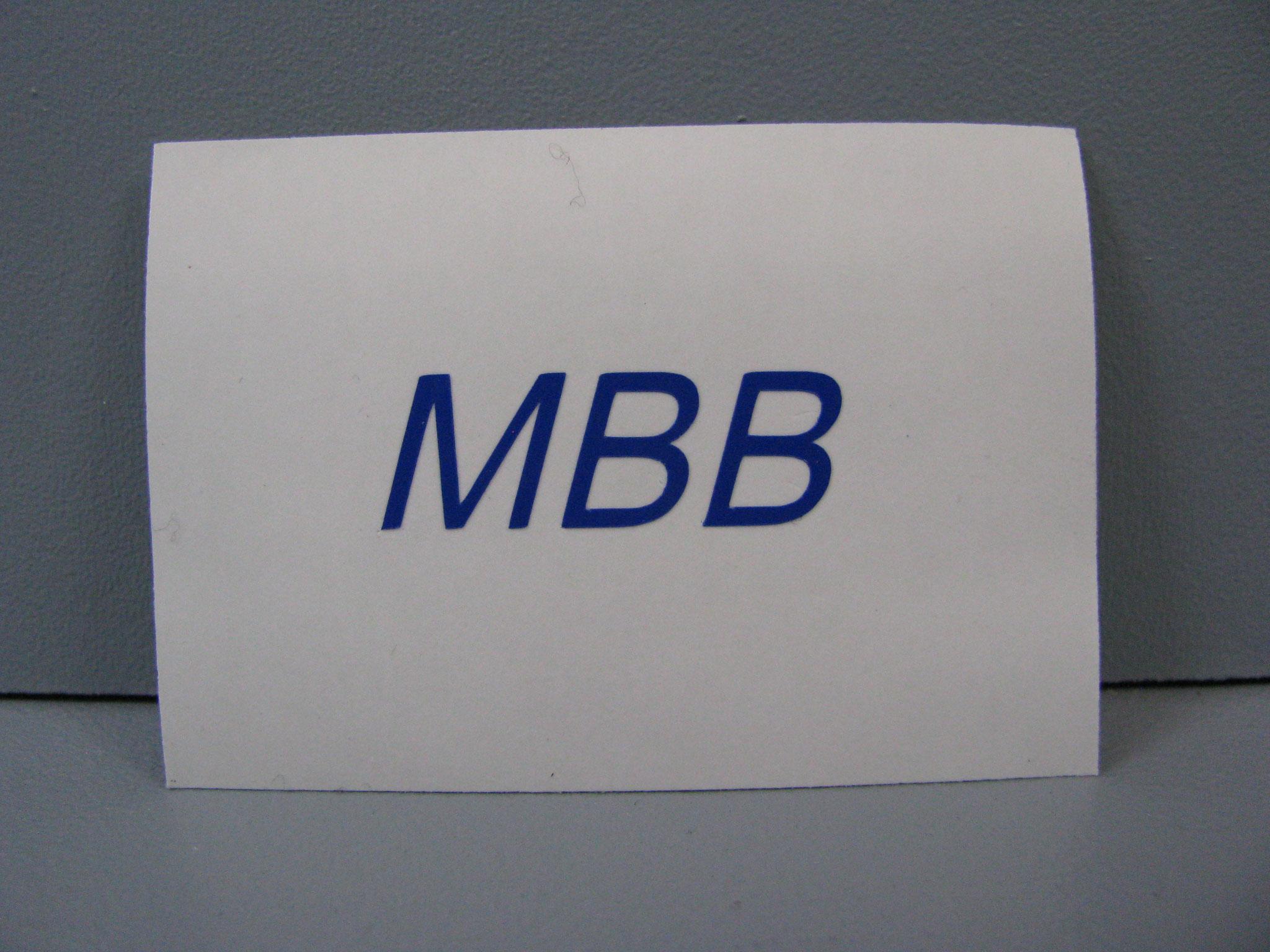 M309: MBB, kursiv, z.B. 30x10mm