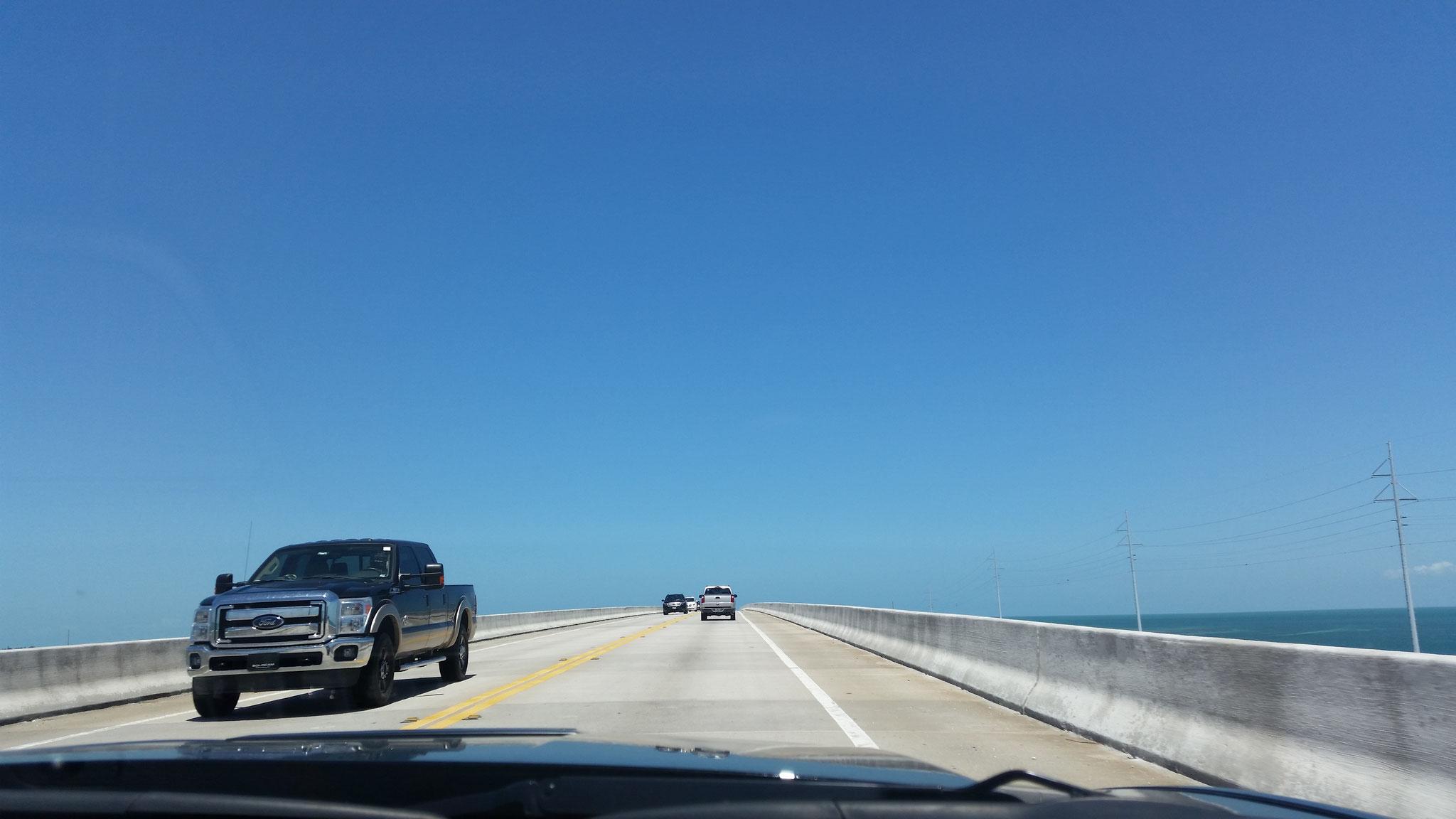 Richtung Key West unterwegs