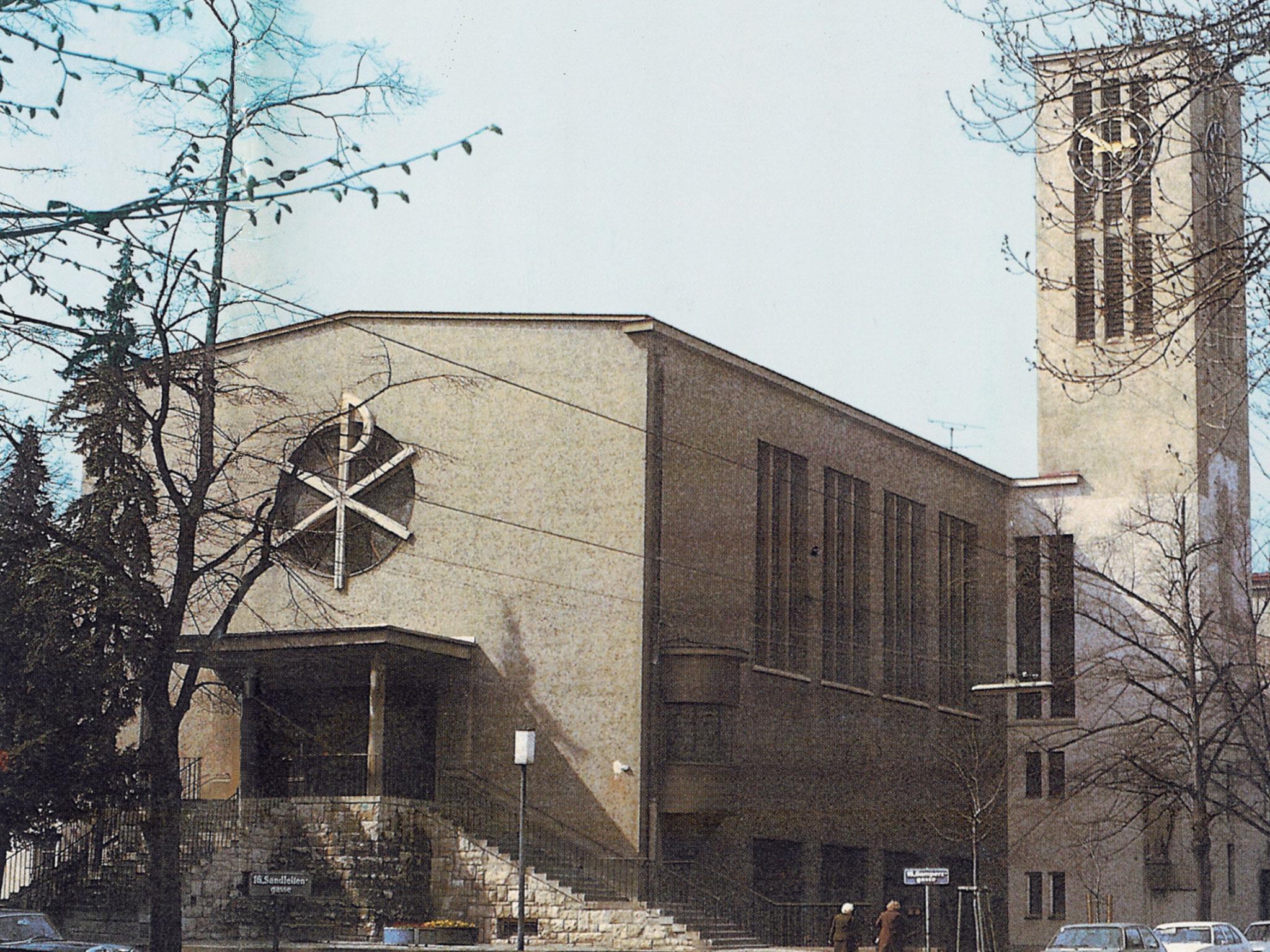Kirche 1936 (Jahr der Kirchenweihe)