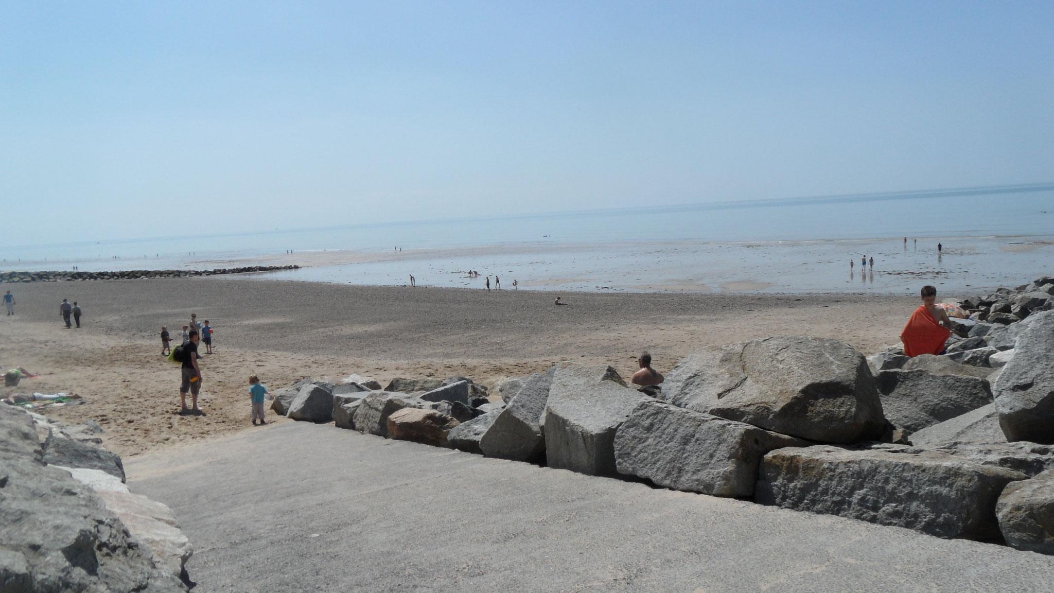 plage d'Agon-Coutainville