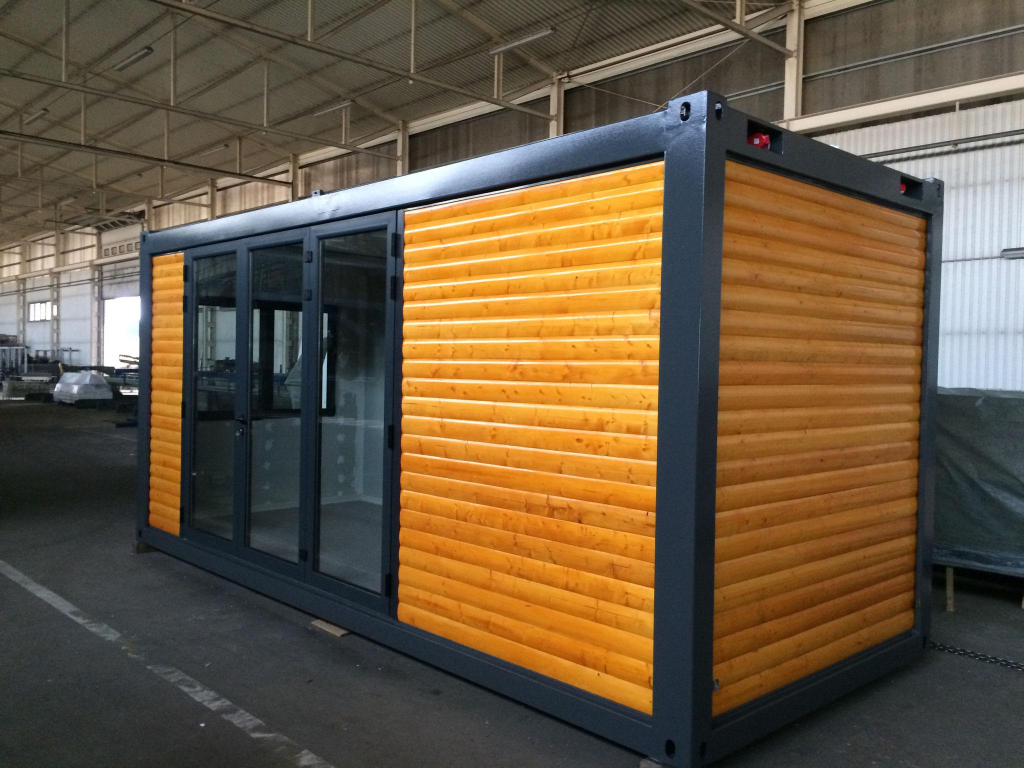 Container in ansprechenden Designs