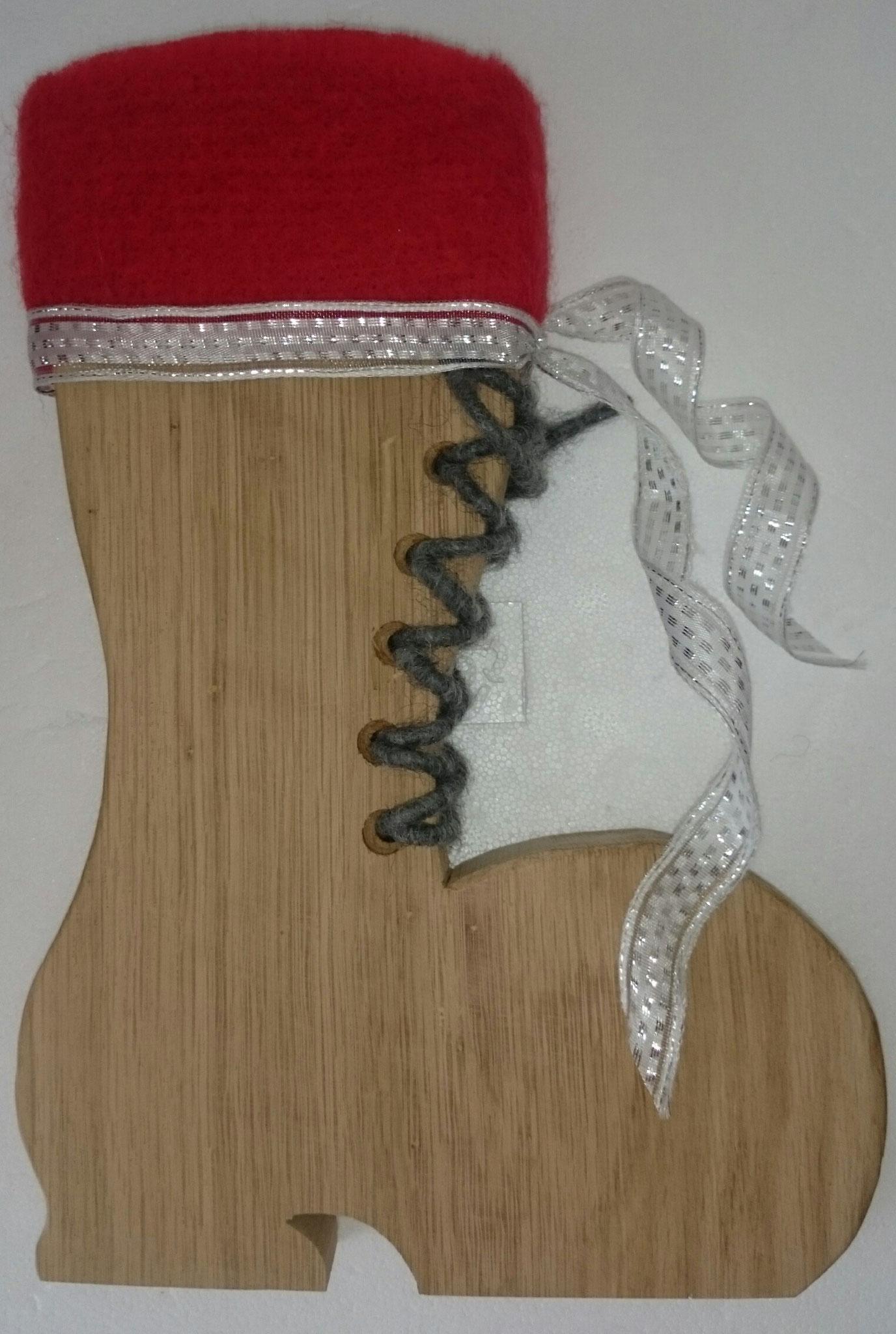 Stiefel aus Eiche