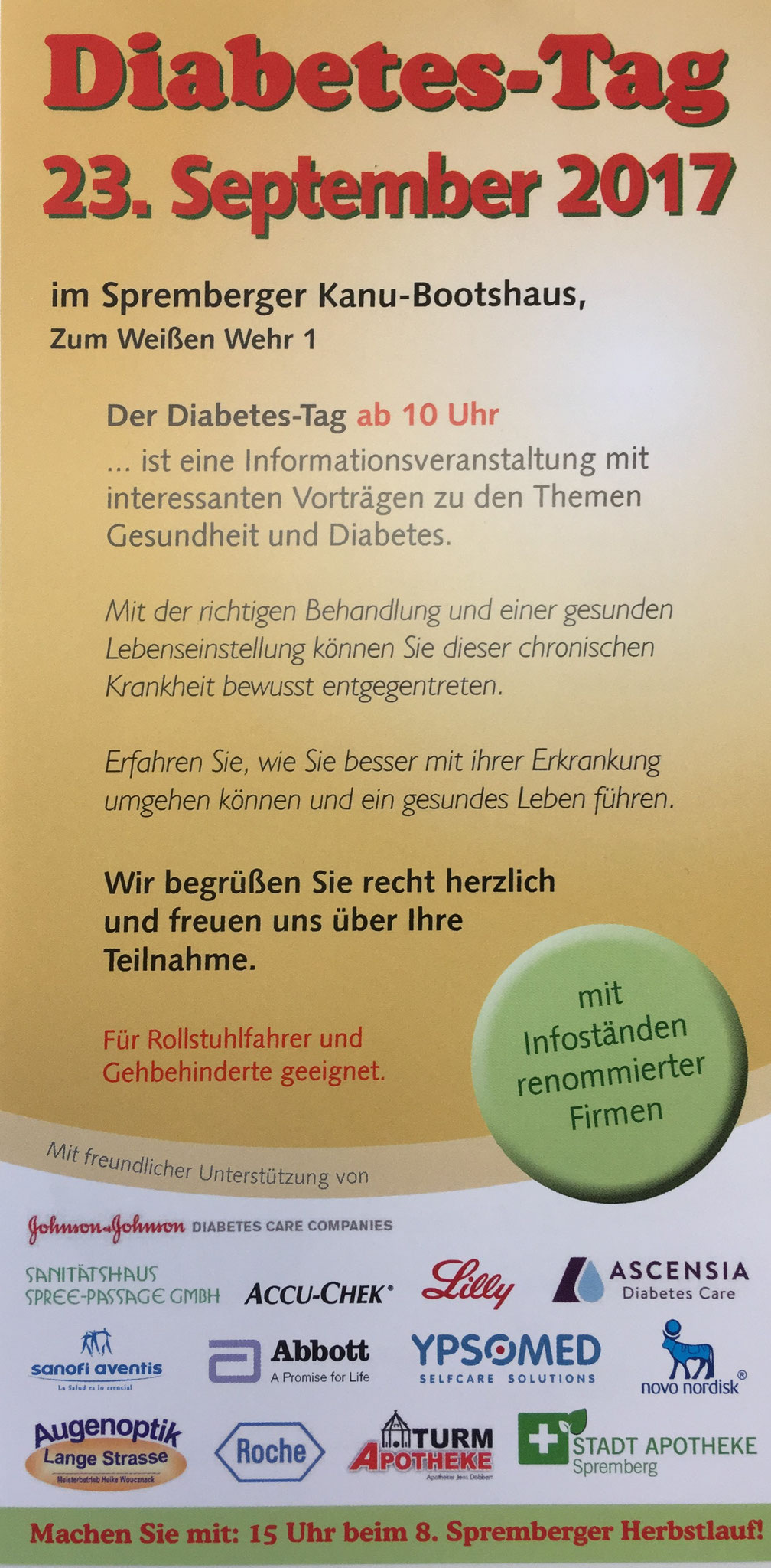 Diabetes-Tag Spremberg