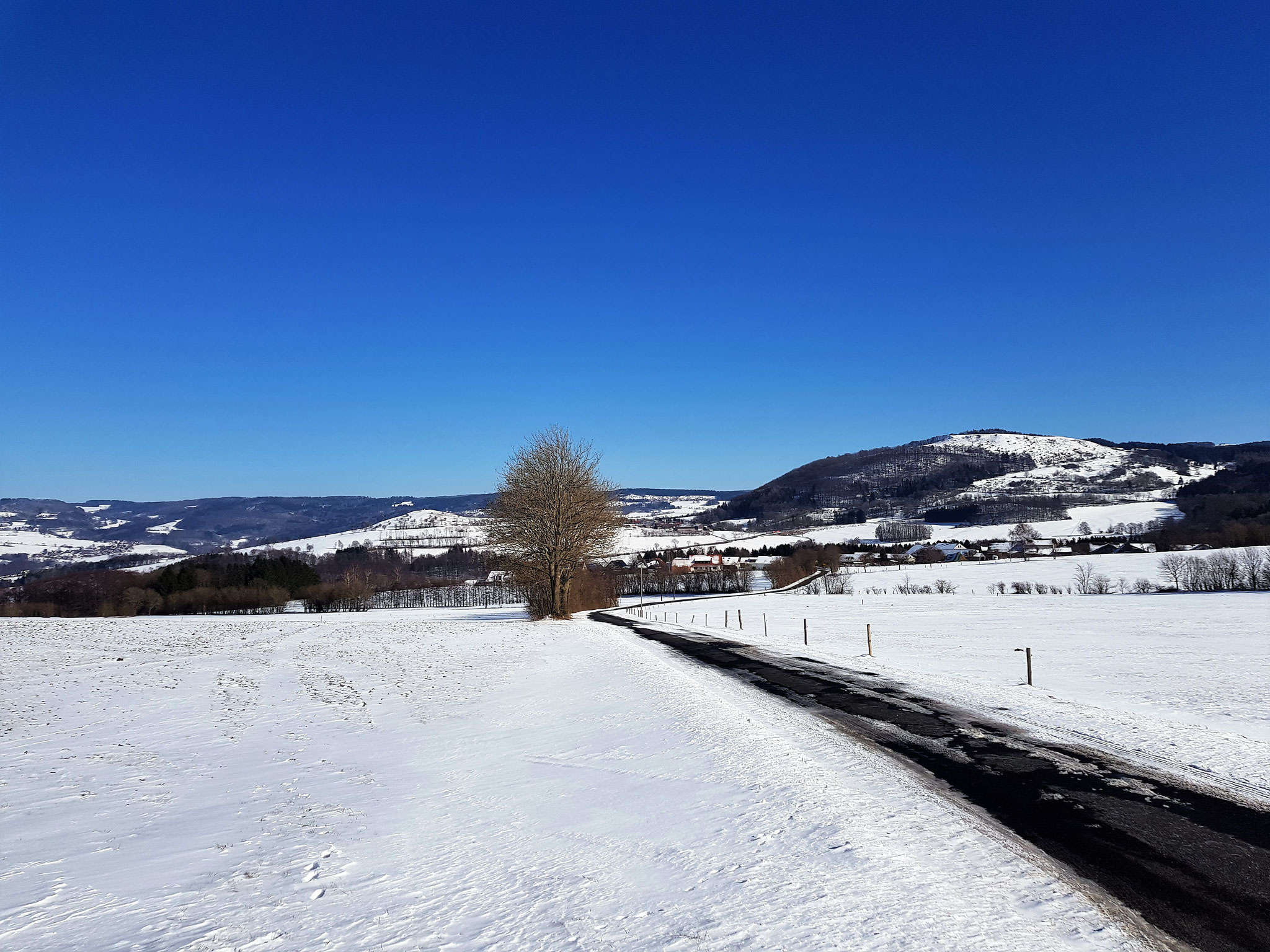 Winter in Rengersfeld