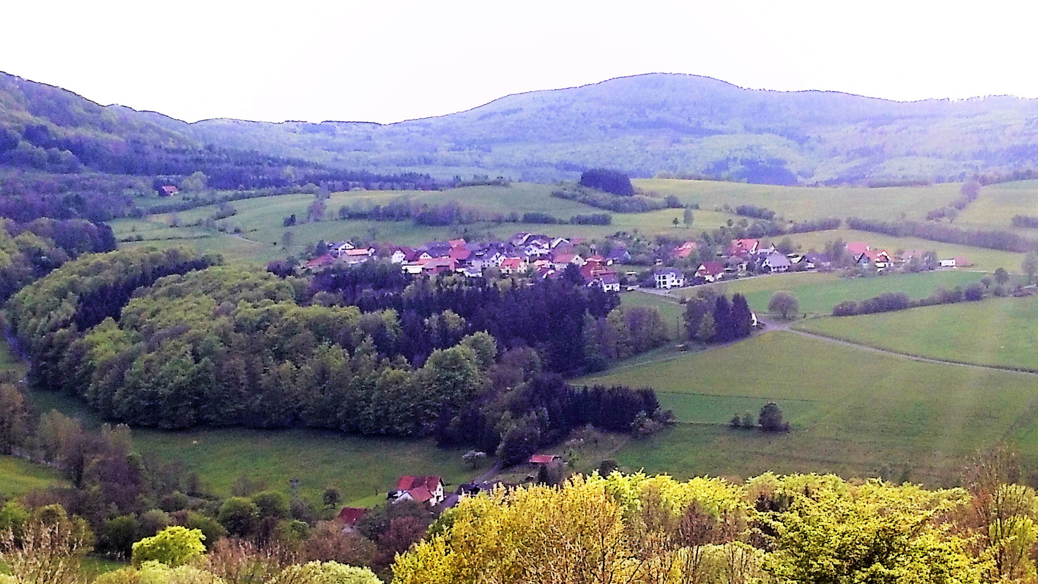 Blick auf Rengersfeld