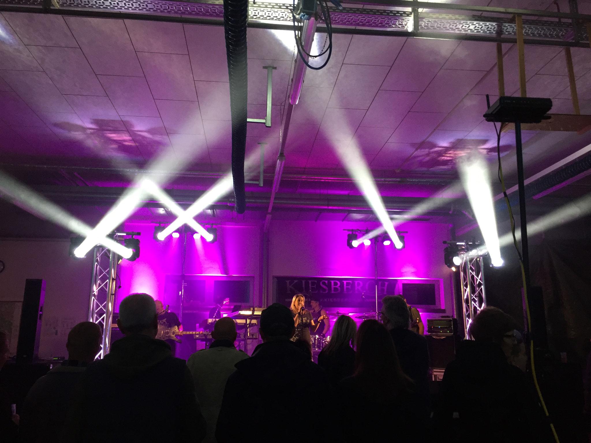 KIESBERCH Coverband Rock- und Hardrock - Lichttechnik