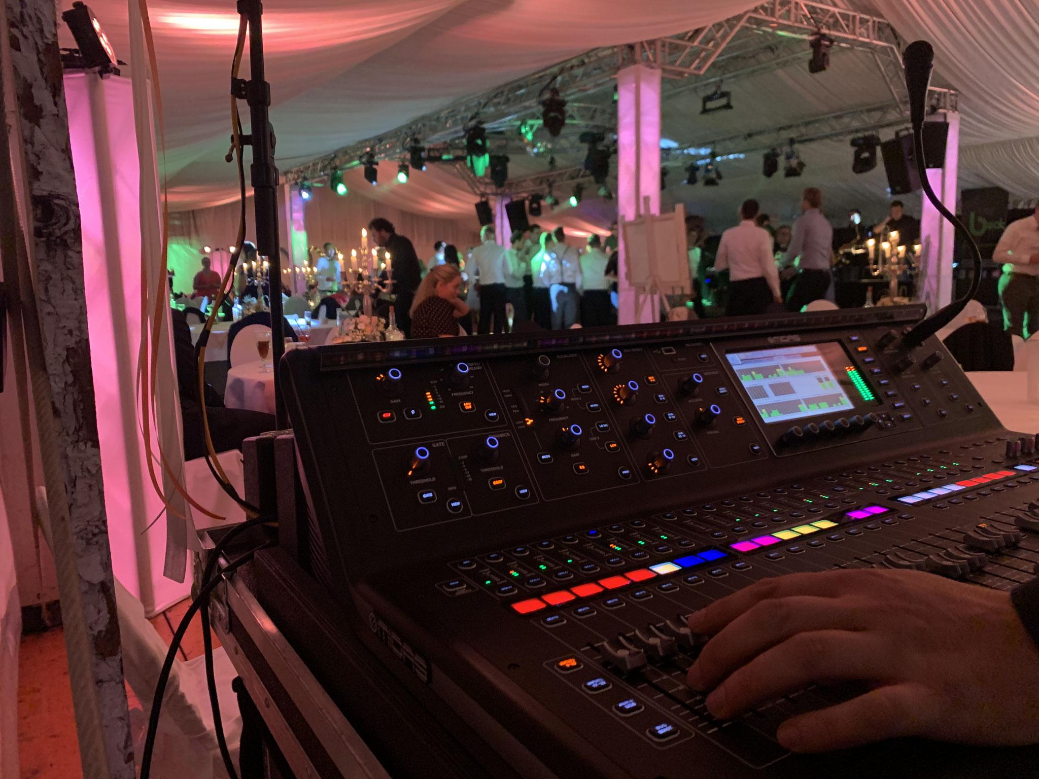 Hochzeitsfeier - Tontechnik