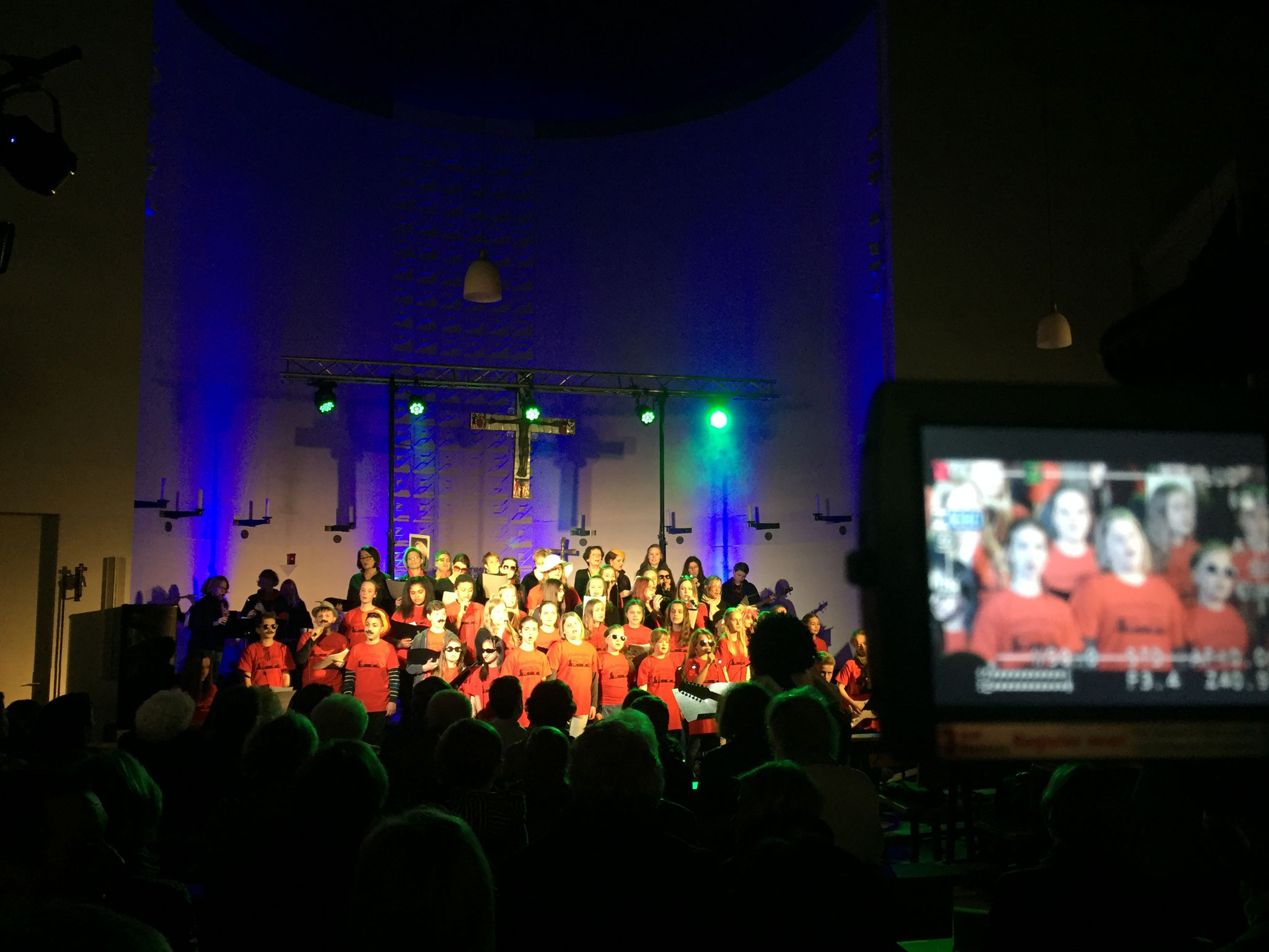 St. Hedwig Hedwigkids Konzert / 20 jähriges Jubiläum 2017 - Licht- und Medientechnik