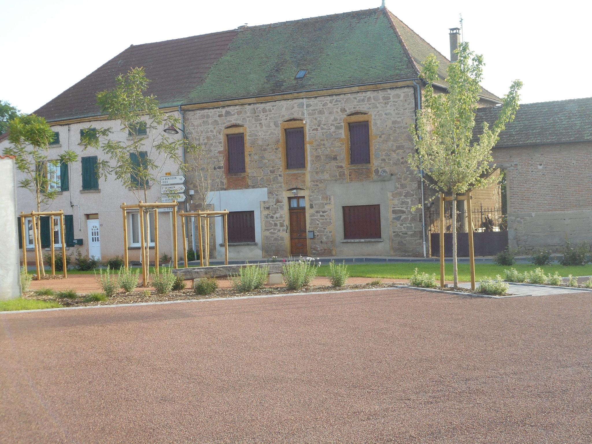 Création d'un square en cœur de bourg