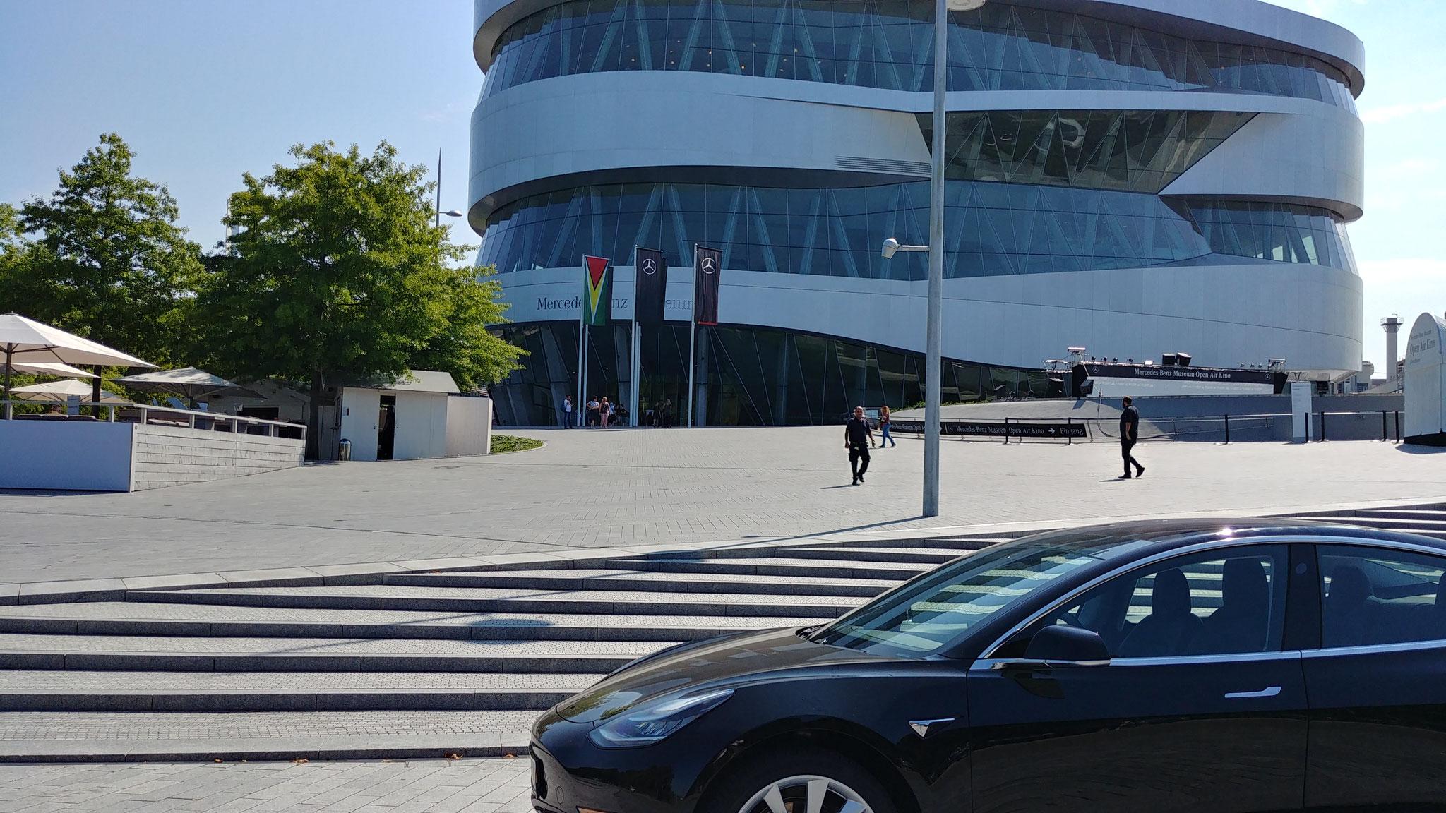 Kleiner Besuch beim Mercedes-Benz-Museum