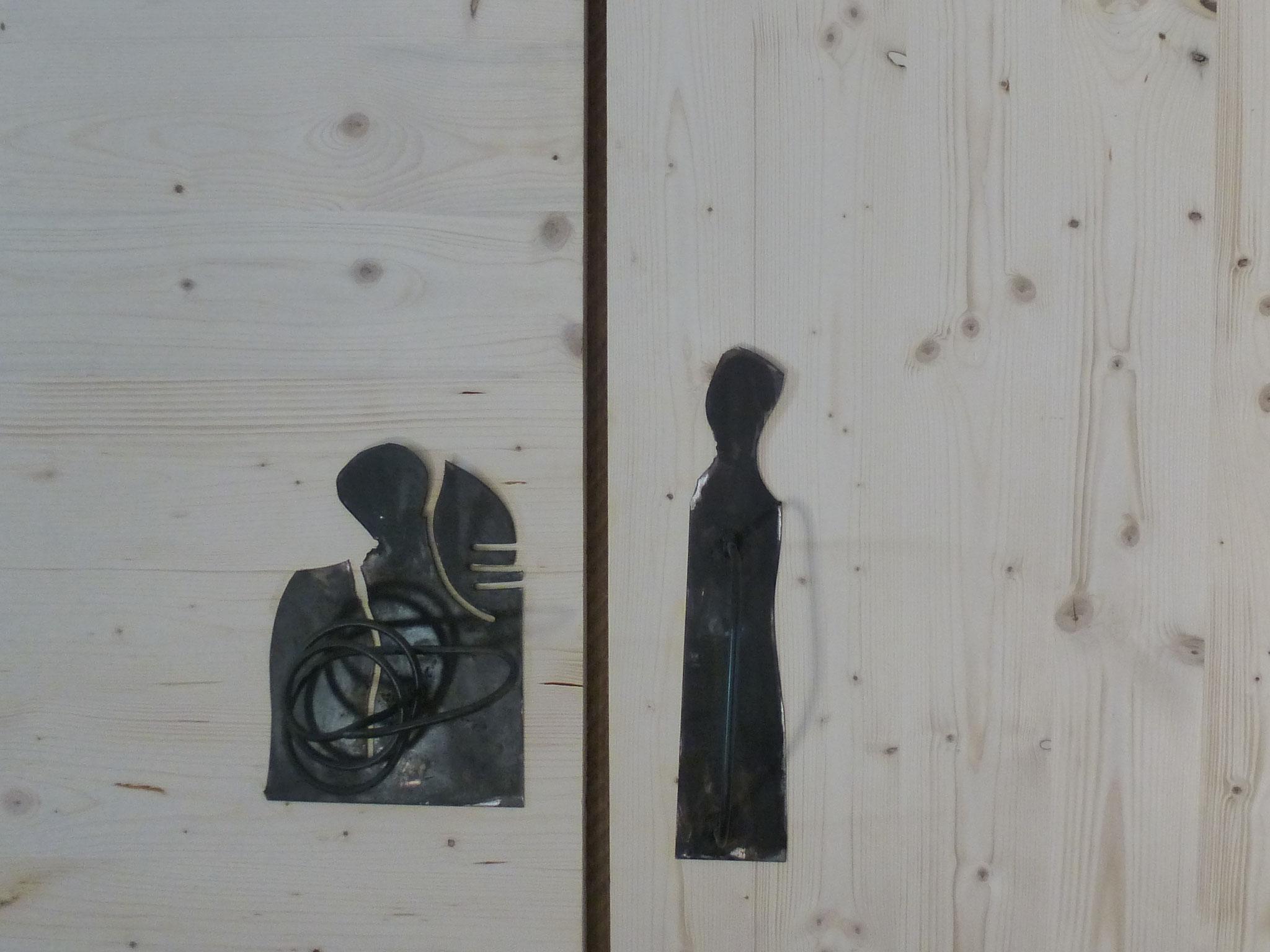 porte placard basquiat room