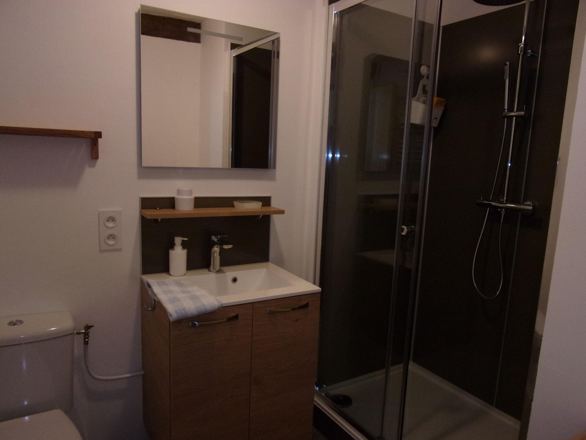 Toutes les salles d'eau sont neuves