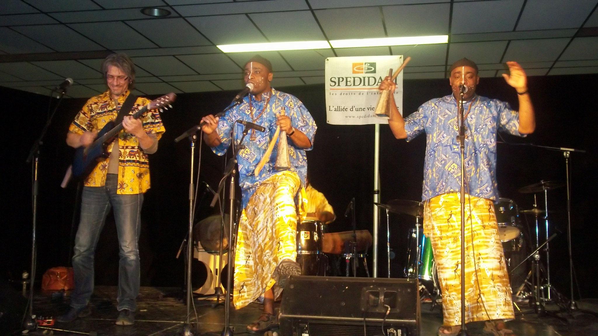 Les Jumeaux de MASAO (Masao Masu) en concert  à Montréal