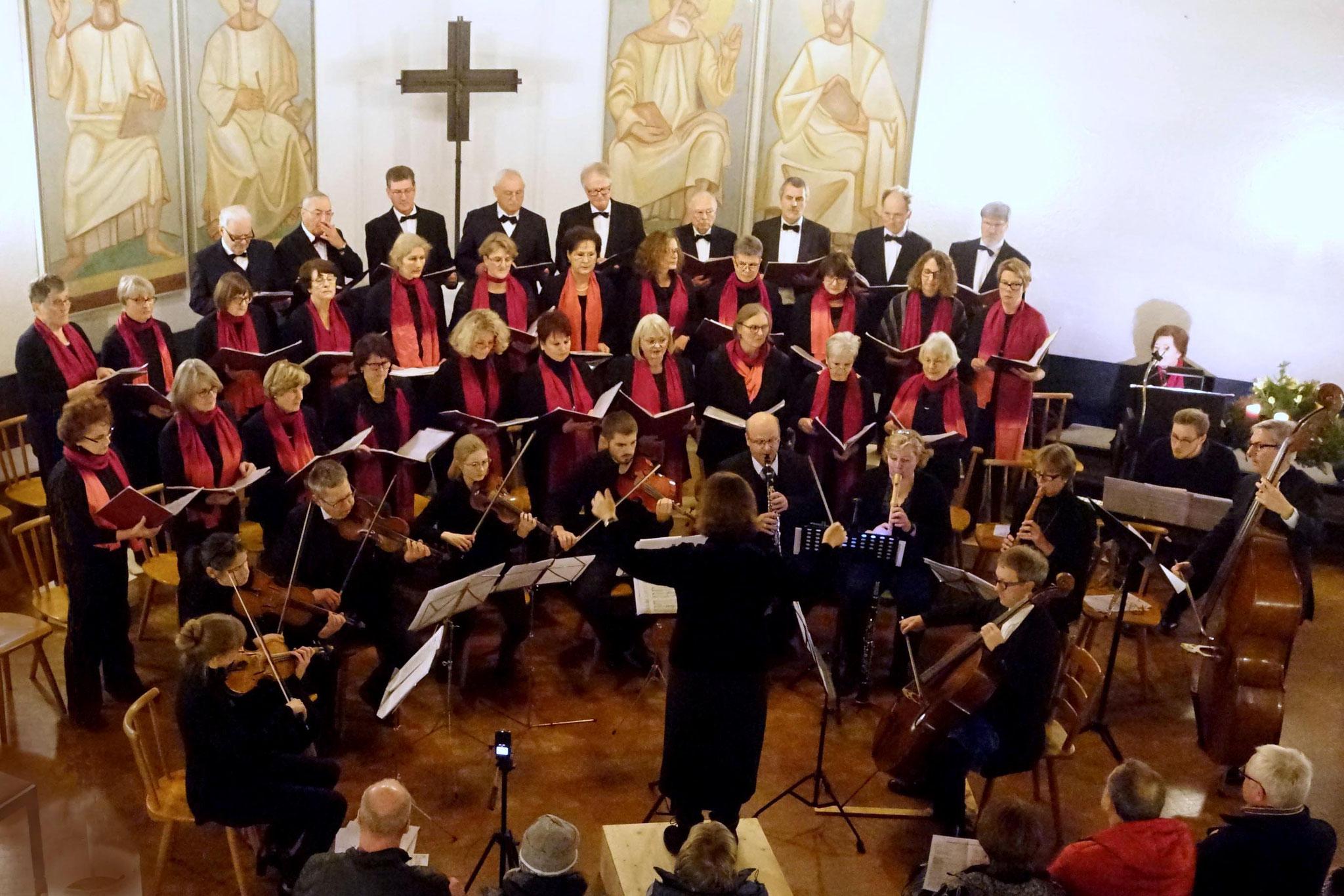 17. 12. 2017 - Weihnachtskonzert in der Evangelischen Kirche, Grafing