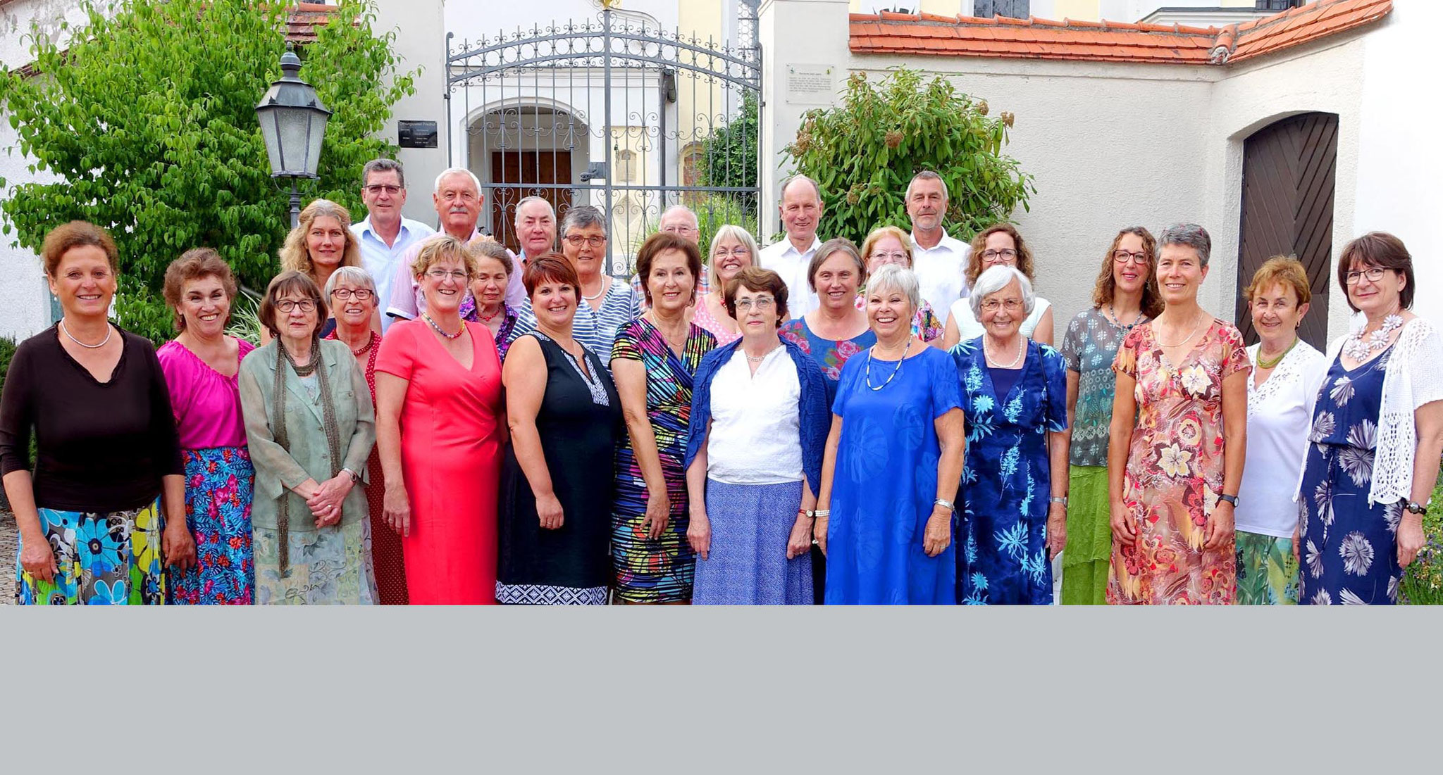 25. 06. 2017 - vor der Kath. Pfarrkirche St Ägidius beim LTG-Sommerkonzert