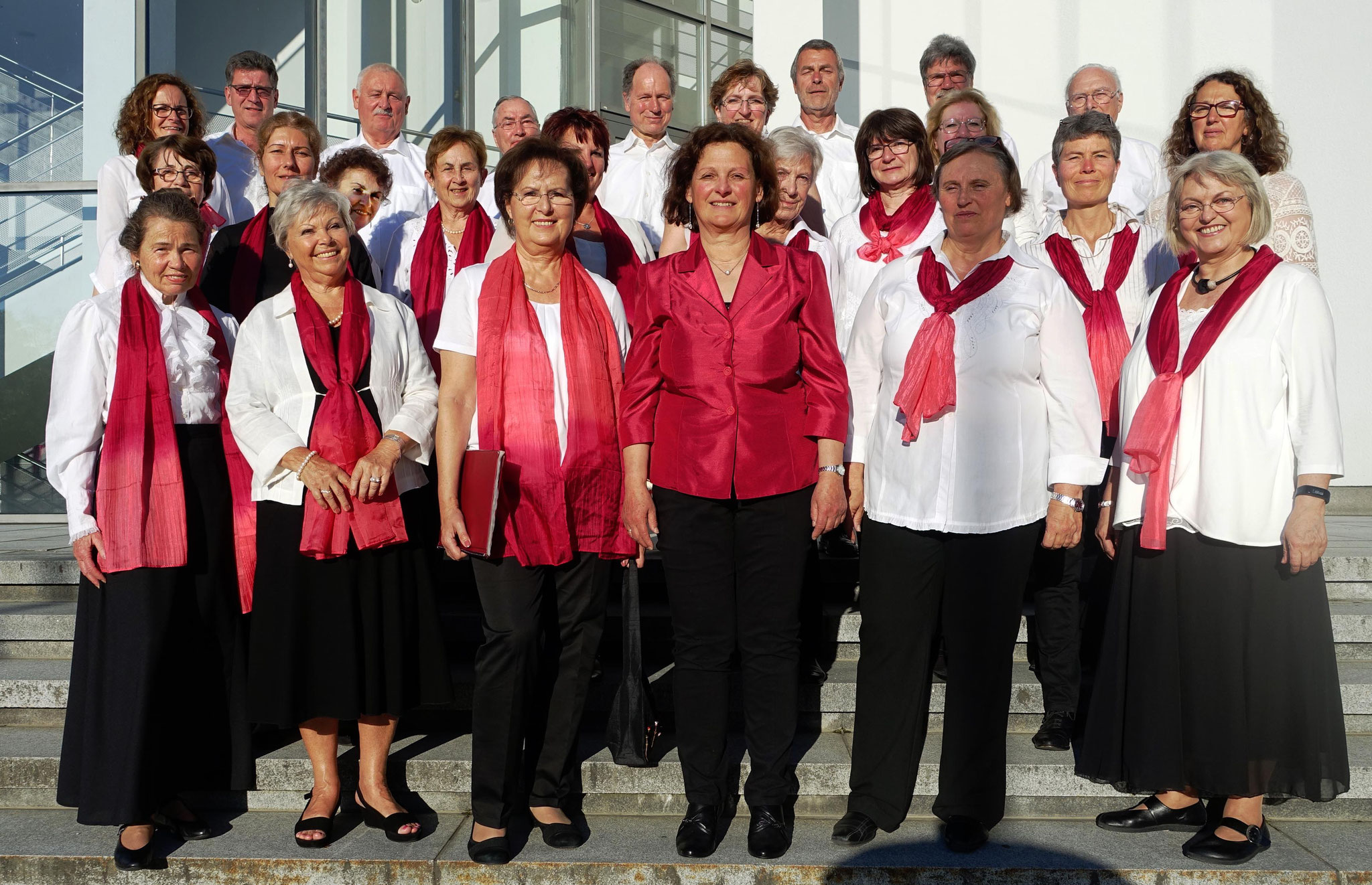 13. 05. 2017 - am Gemeinschaftskonzert des Chorverbands Region Münchner Osten im Bürgerhaus in Haar