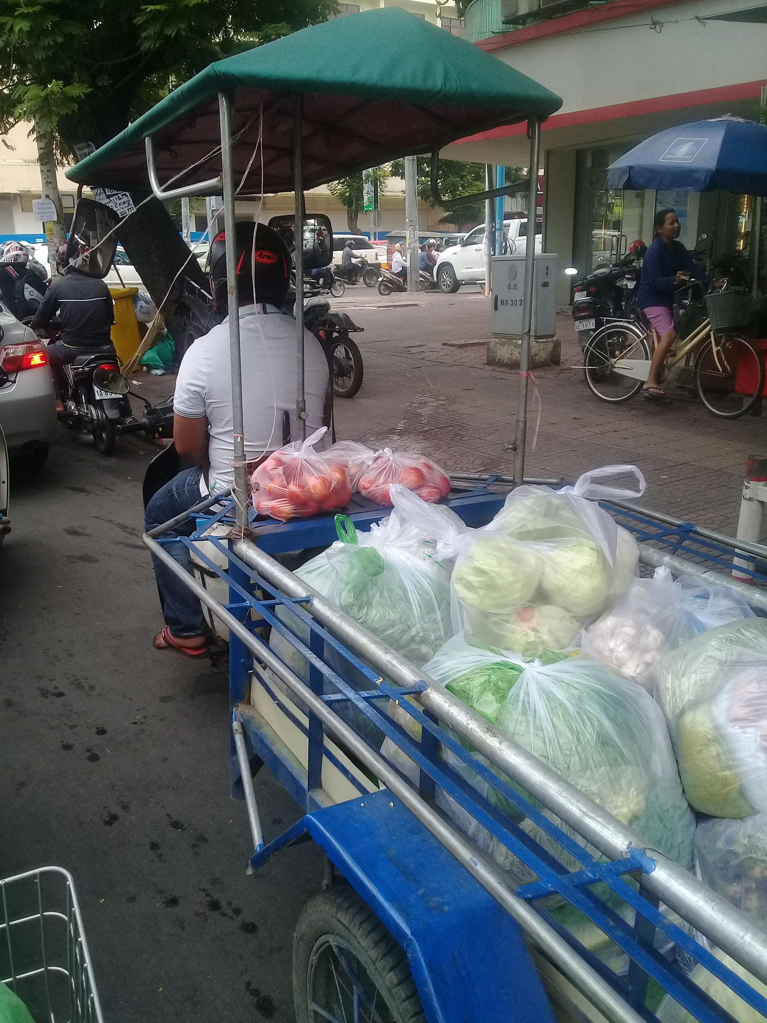 eine Ladung Gemüse