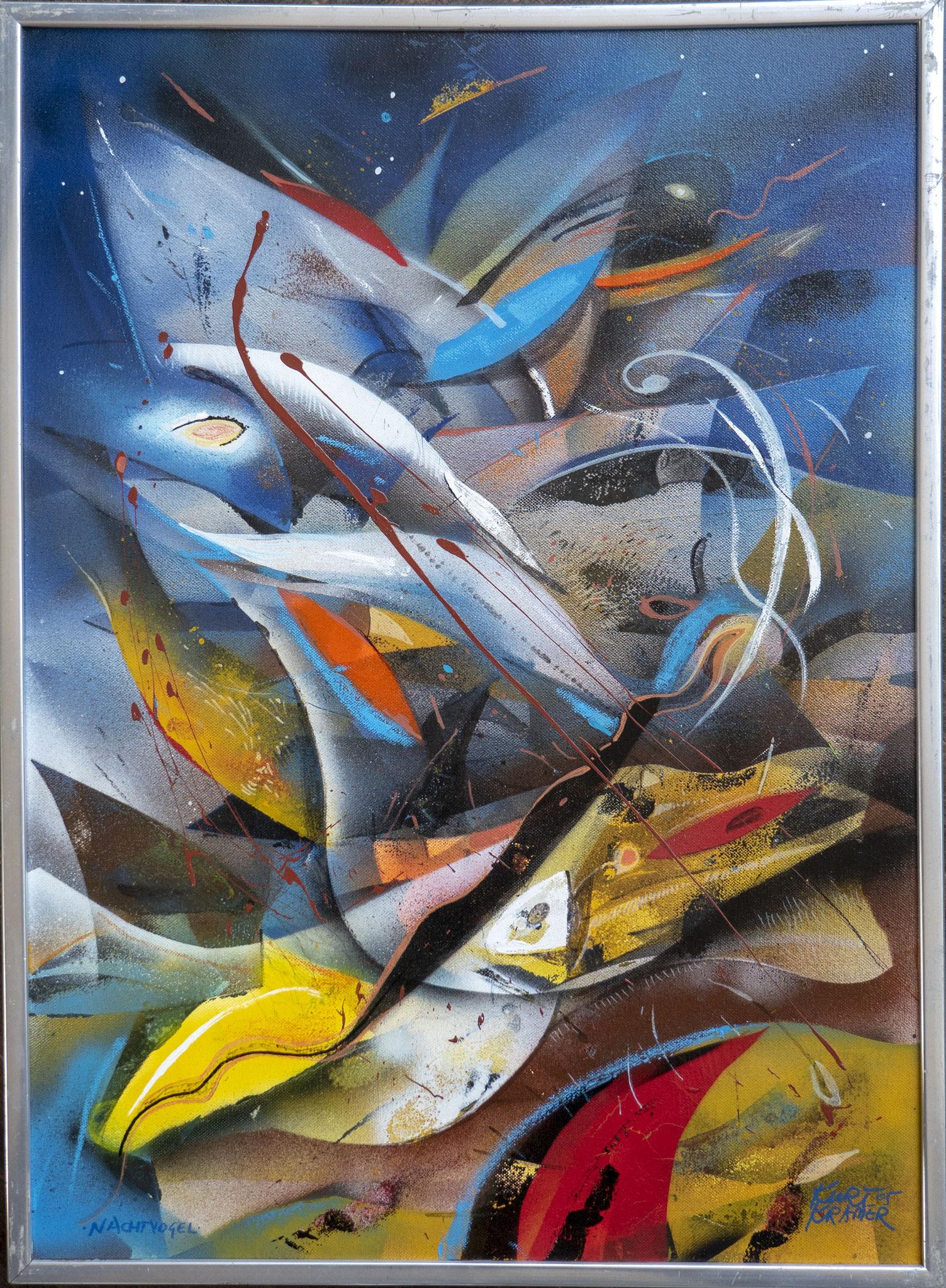Nachtvogel, 2005 (Öl, 50x60cm)