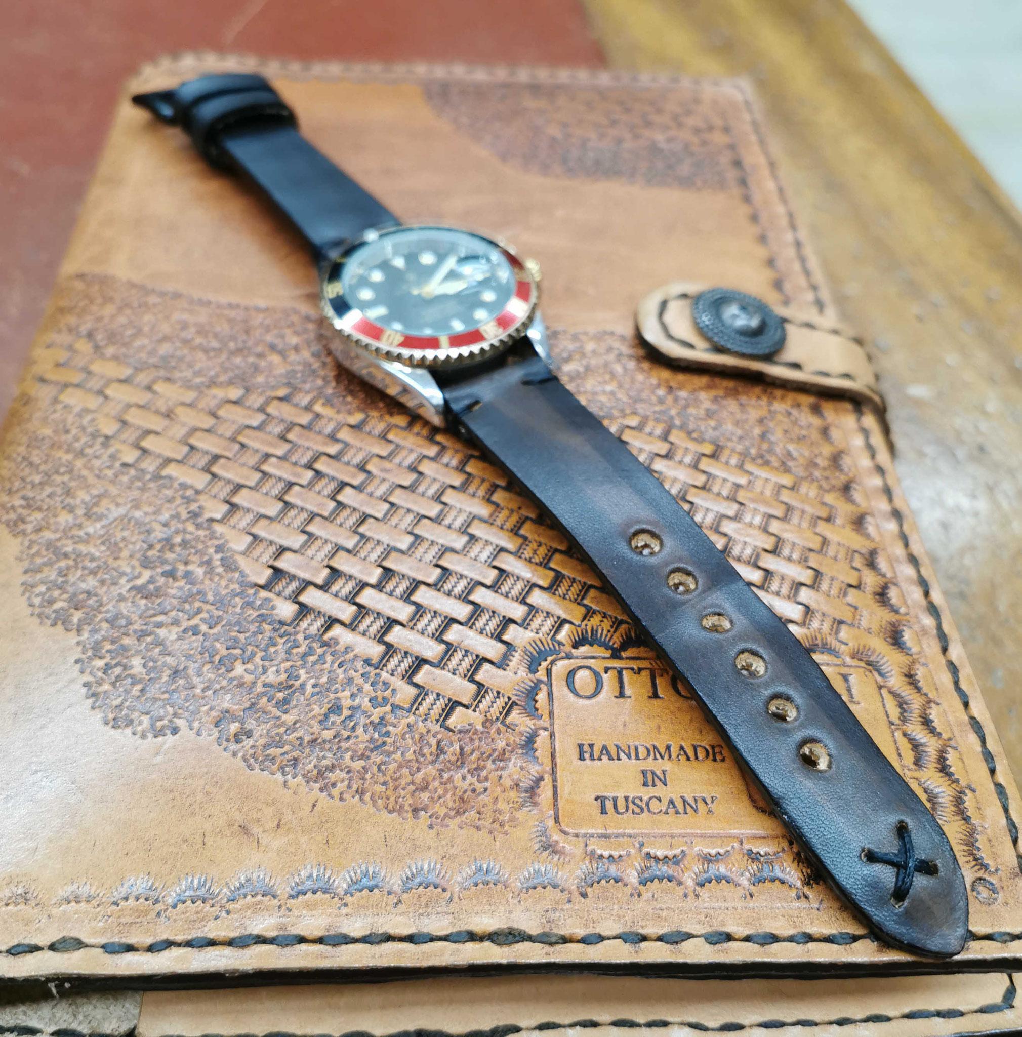 cinturino marrone vintage
