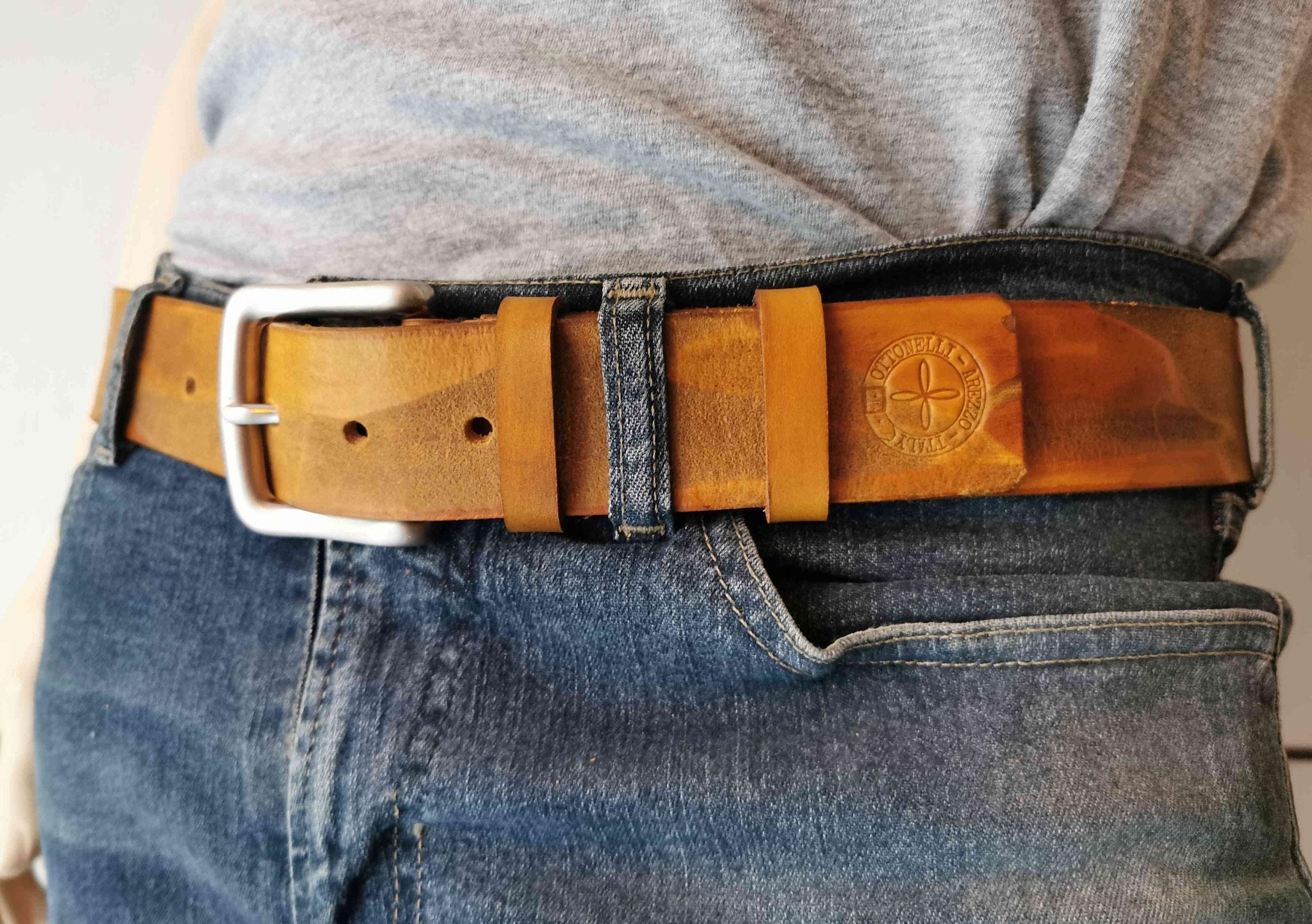 cintura marrone chiaro
