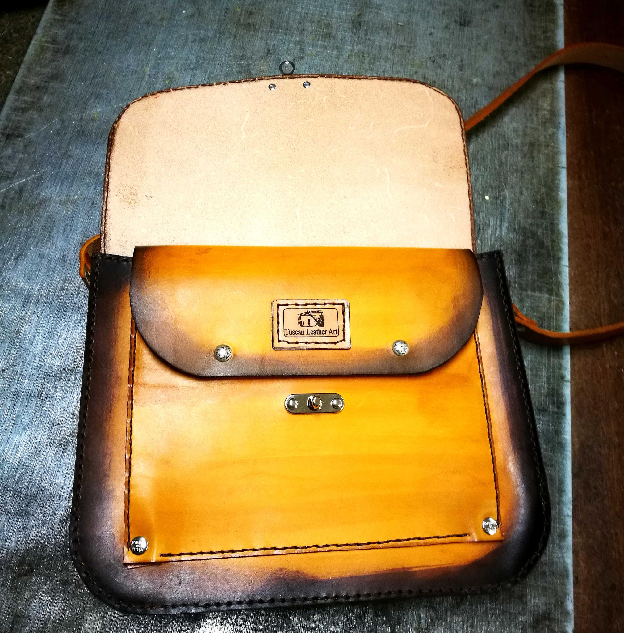 borsa vintage in cuoio