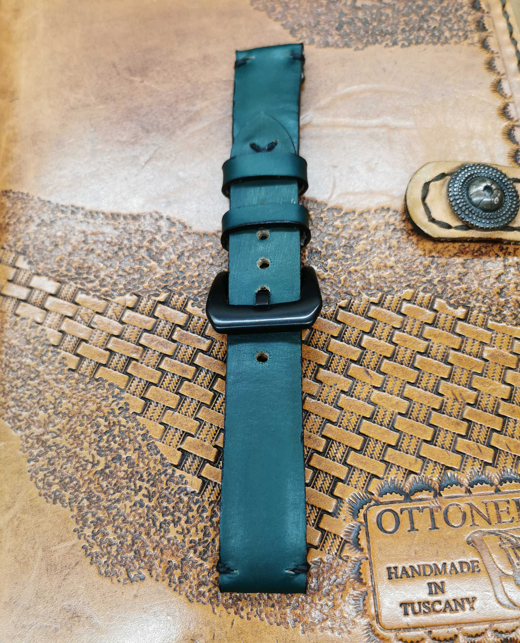 cinturino verde vintage