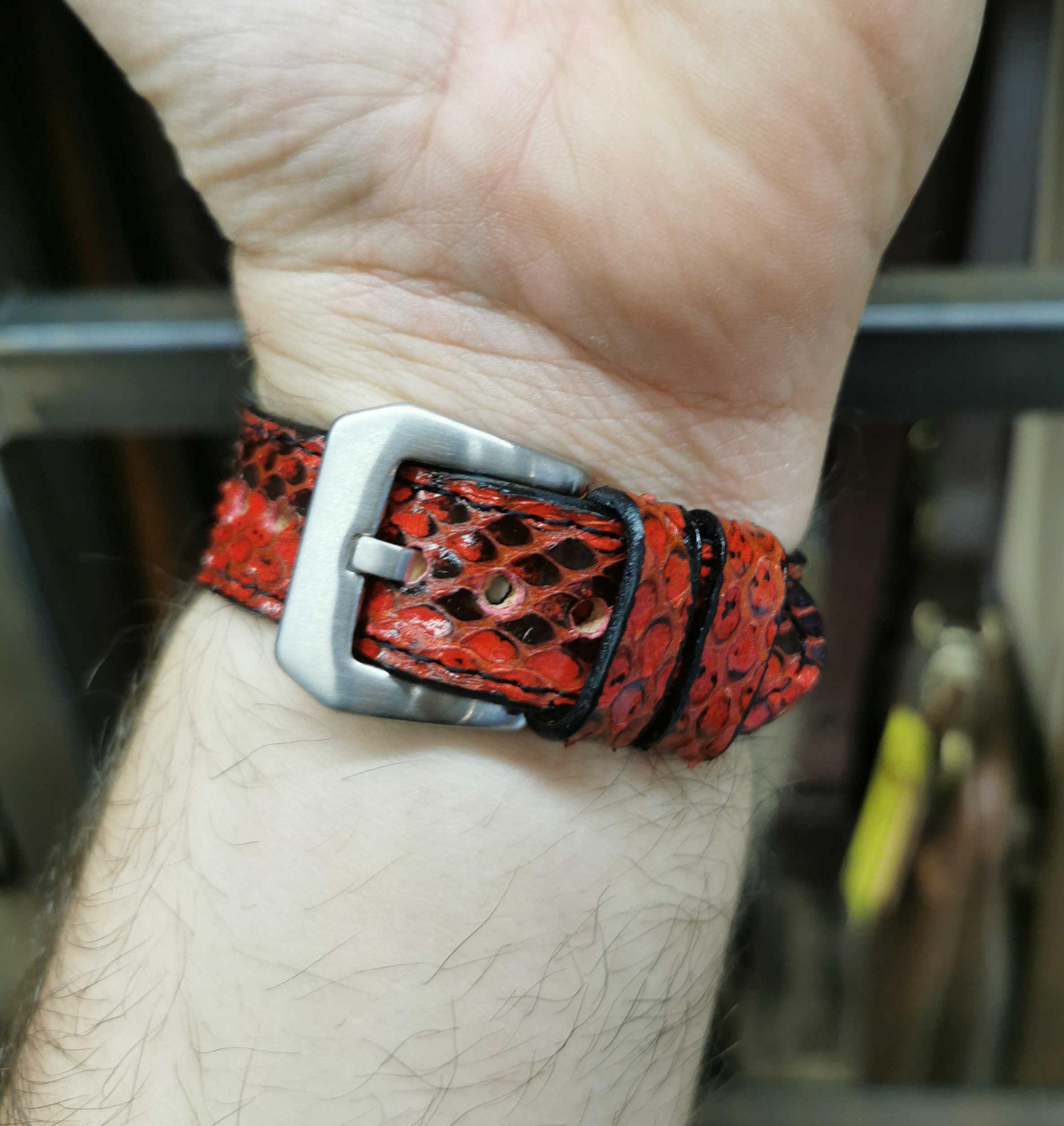 cinturino rosso