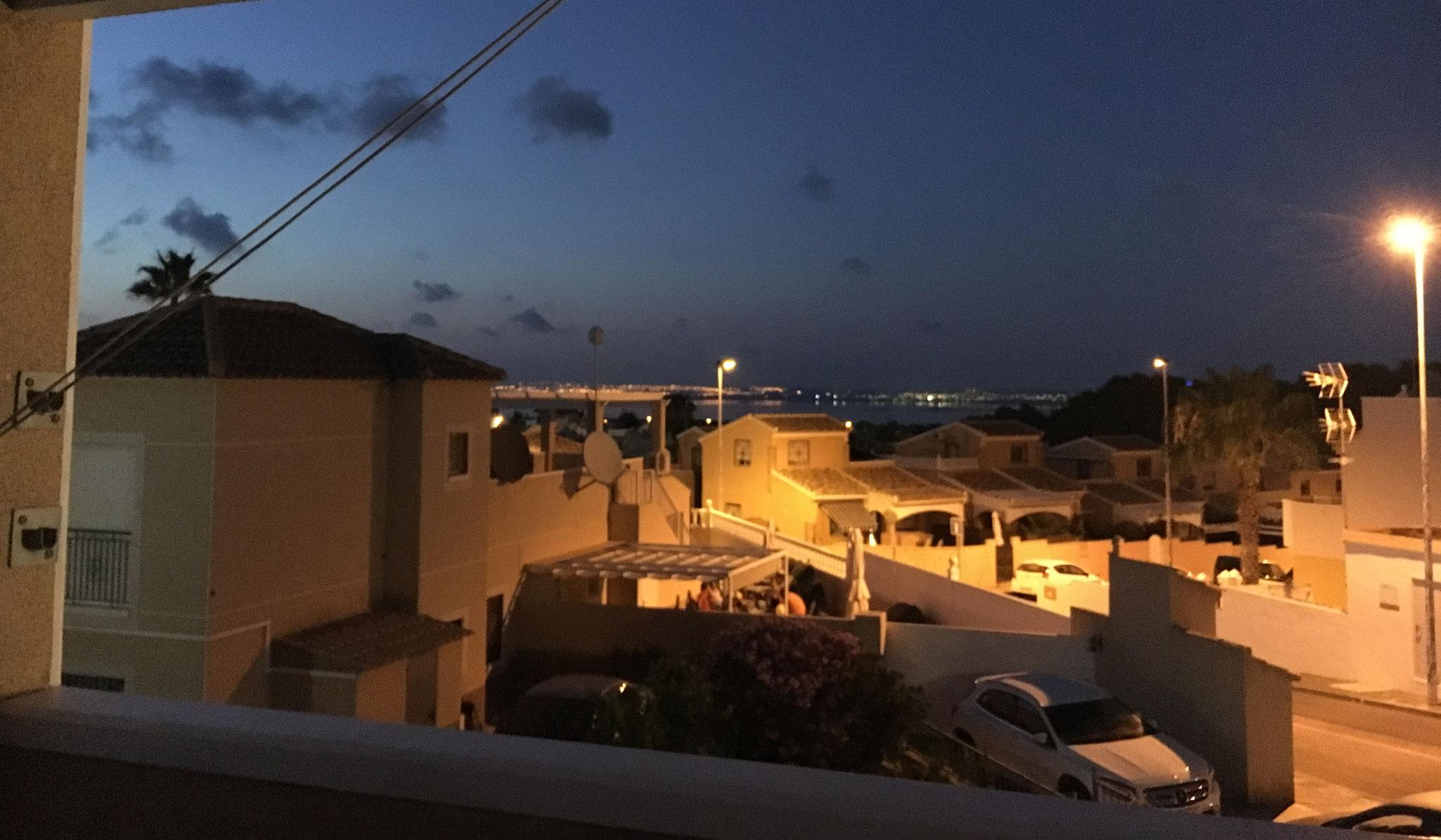 La terraza  hace que todas las noches sea una noche de cita: el lugar para estar bajo las estrellas