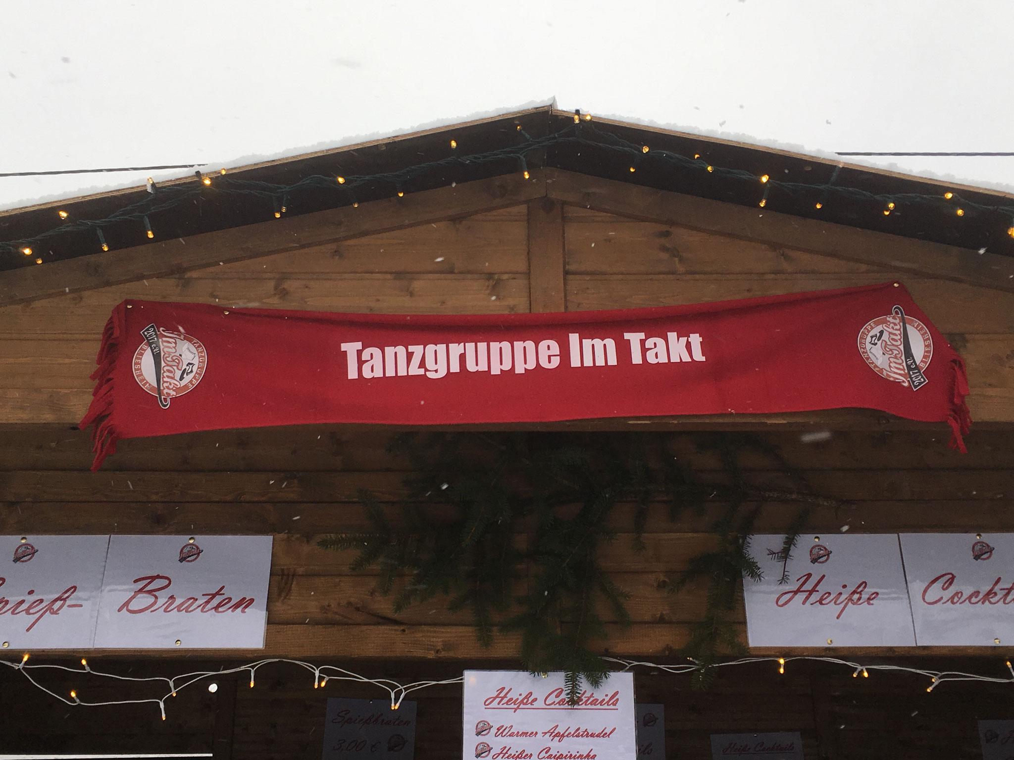 Unser Stand auf dem Bliesheimer Nikolausmarkt.
