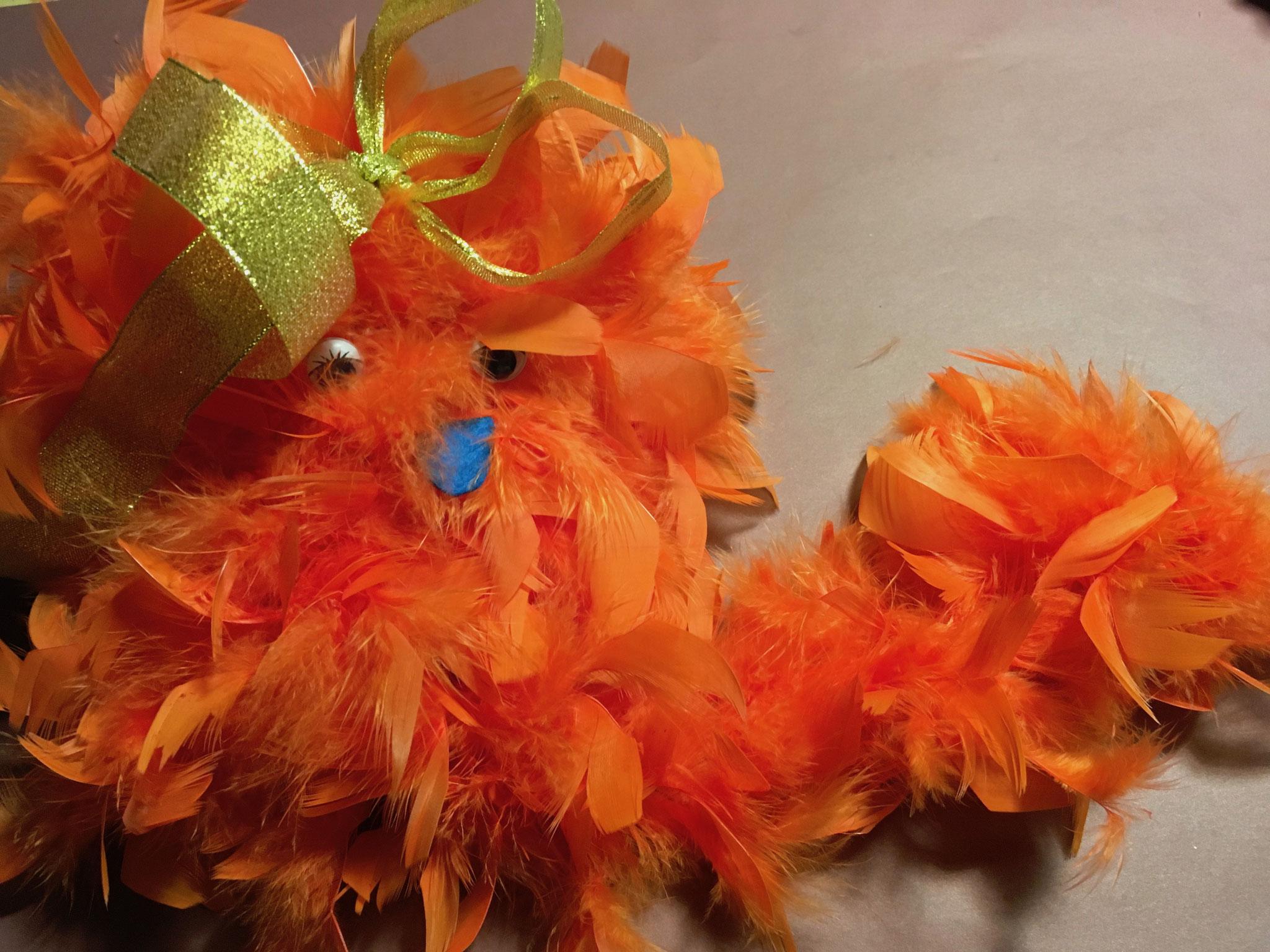 Boas marionnette Halloween, bouh !