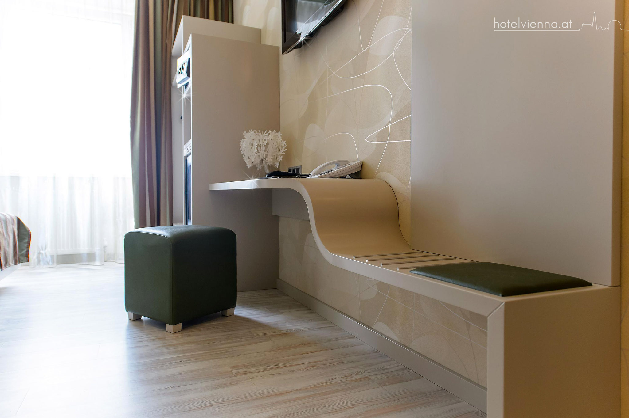 Hotel Vienna Design Einzelzimmer