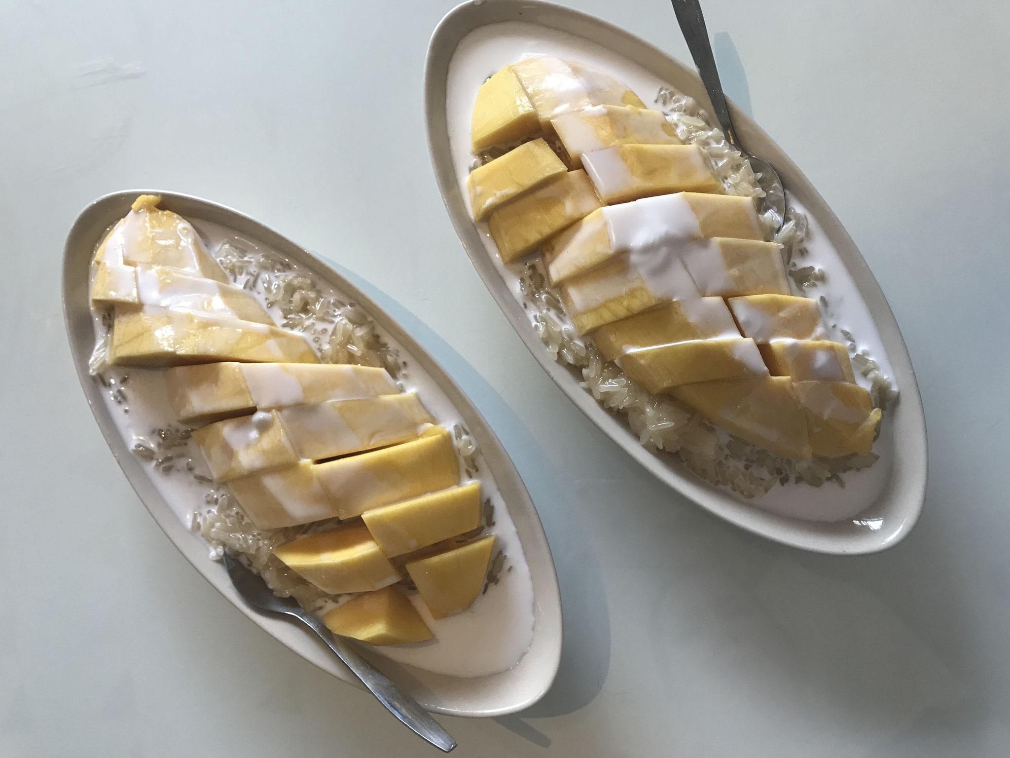 Sticky rice with Mango (Klebreis mit Mango)
