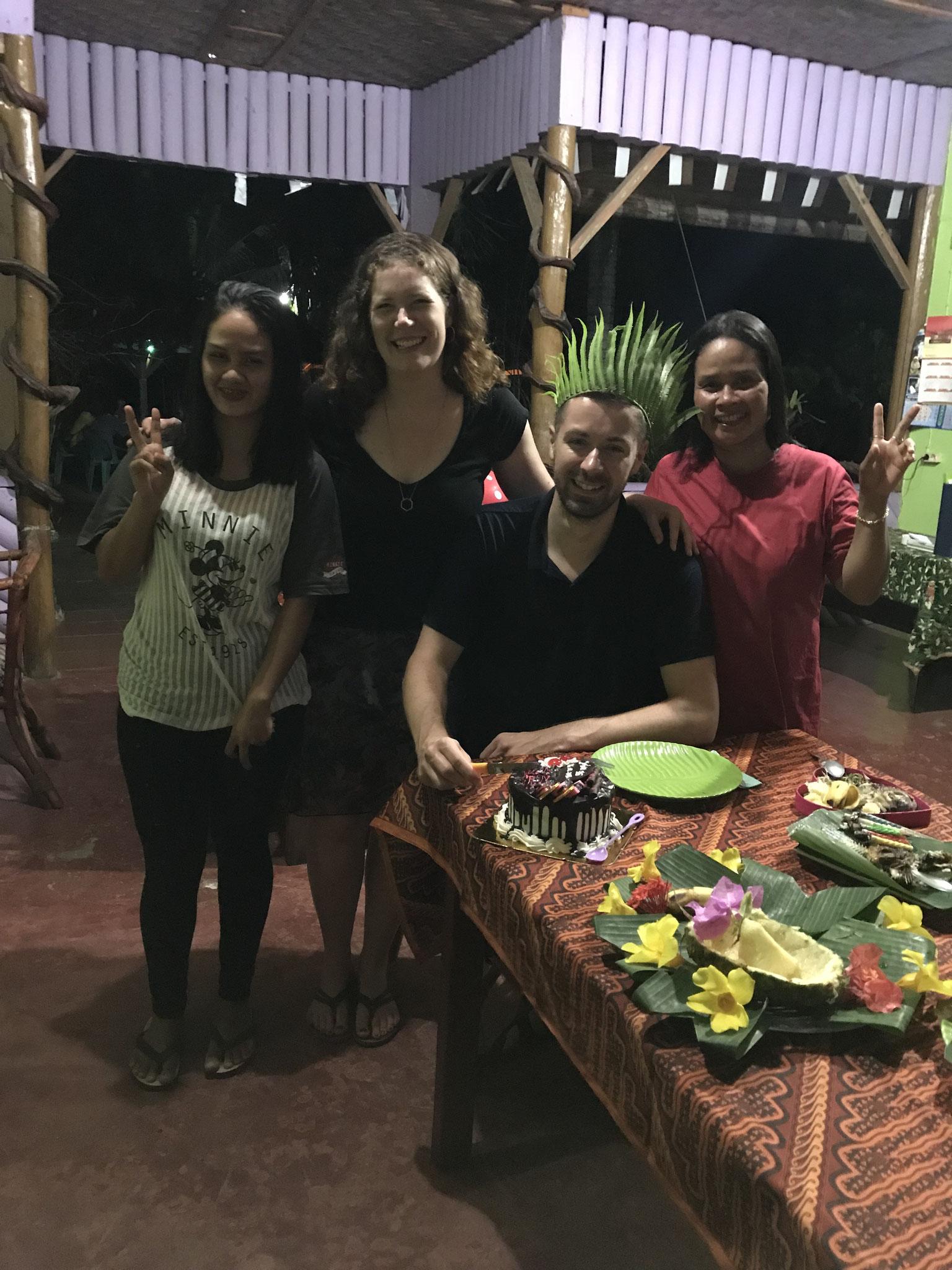 Jochens Geburtstag in Bukit Lawang